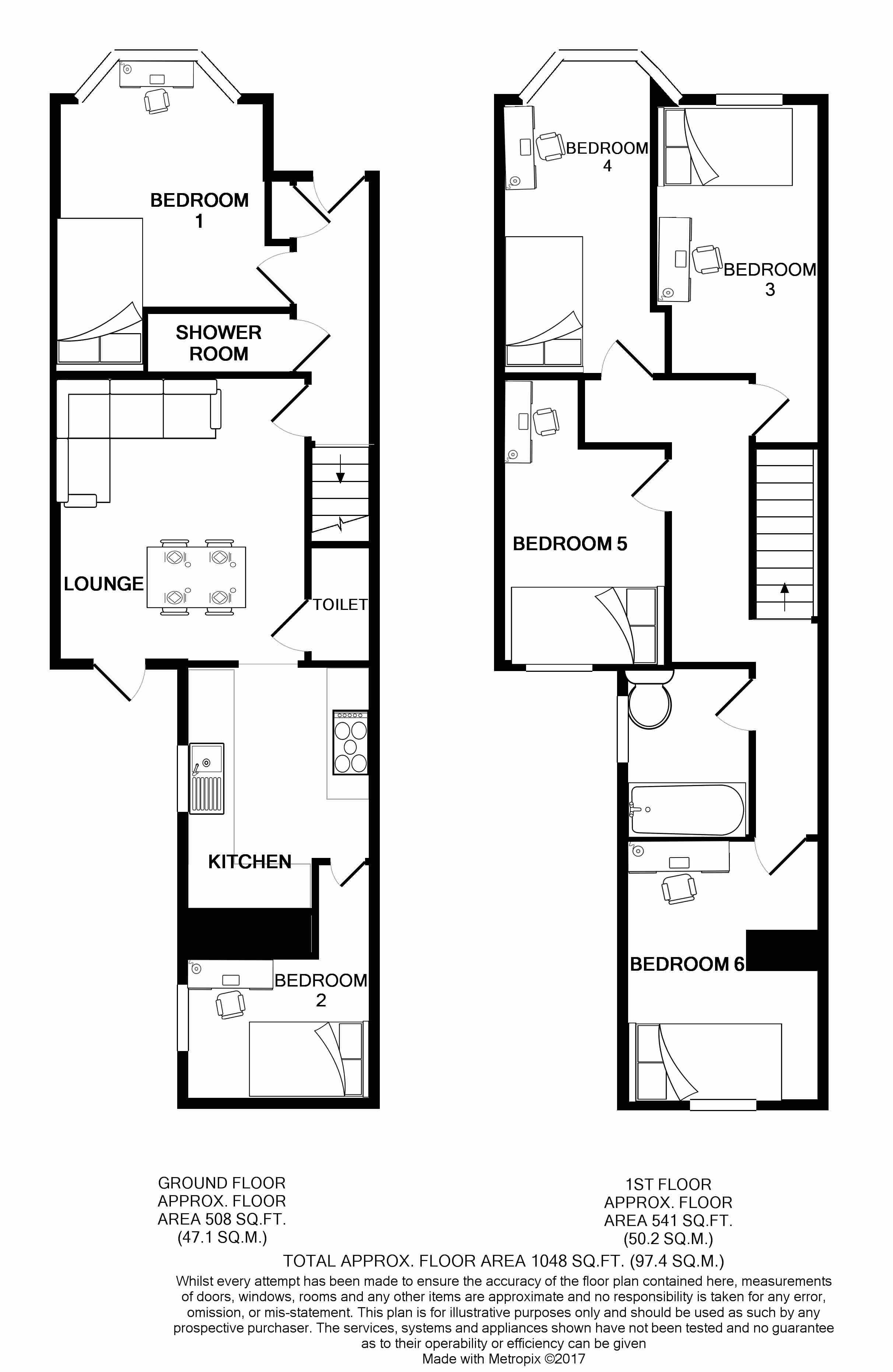 142 Boughey Road Floorplans