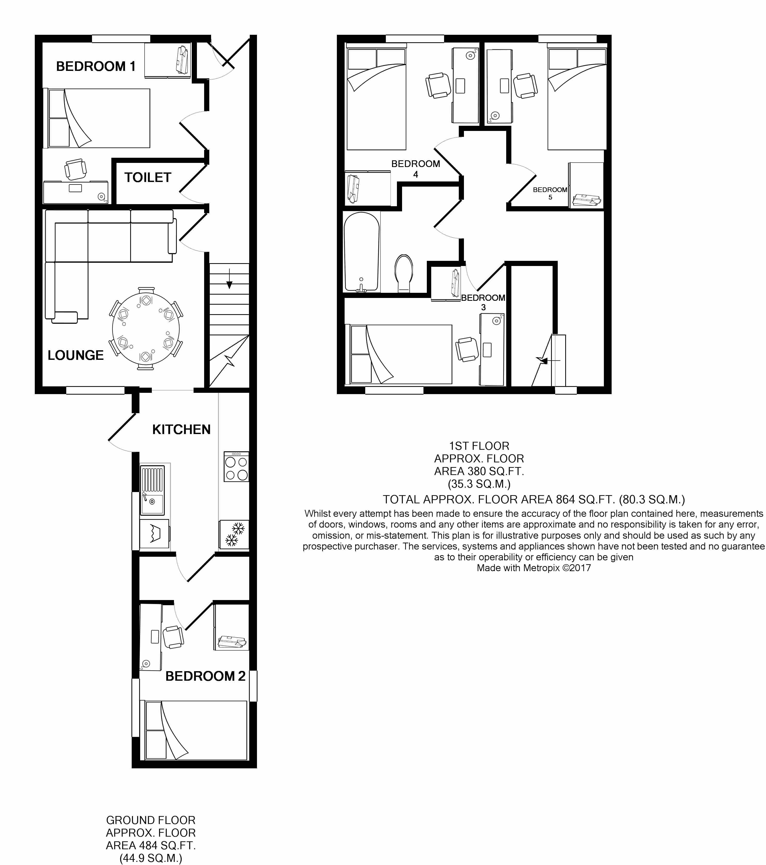 21 Queen Anne Street Floorplans