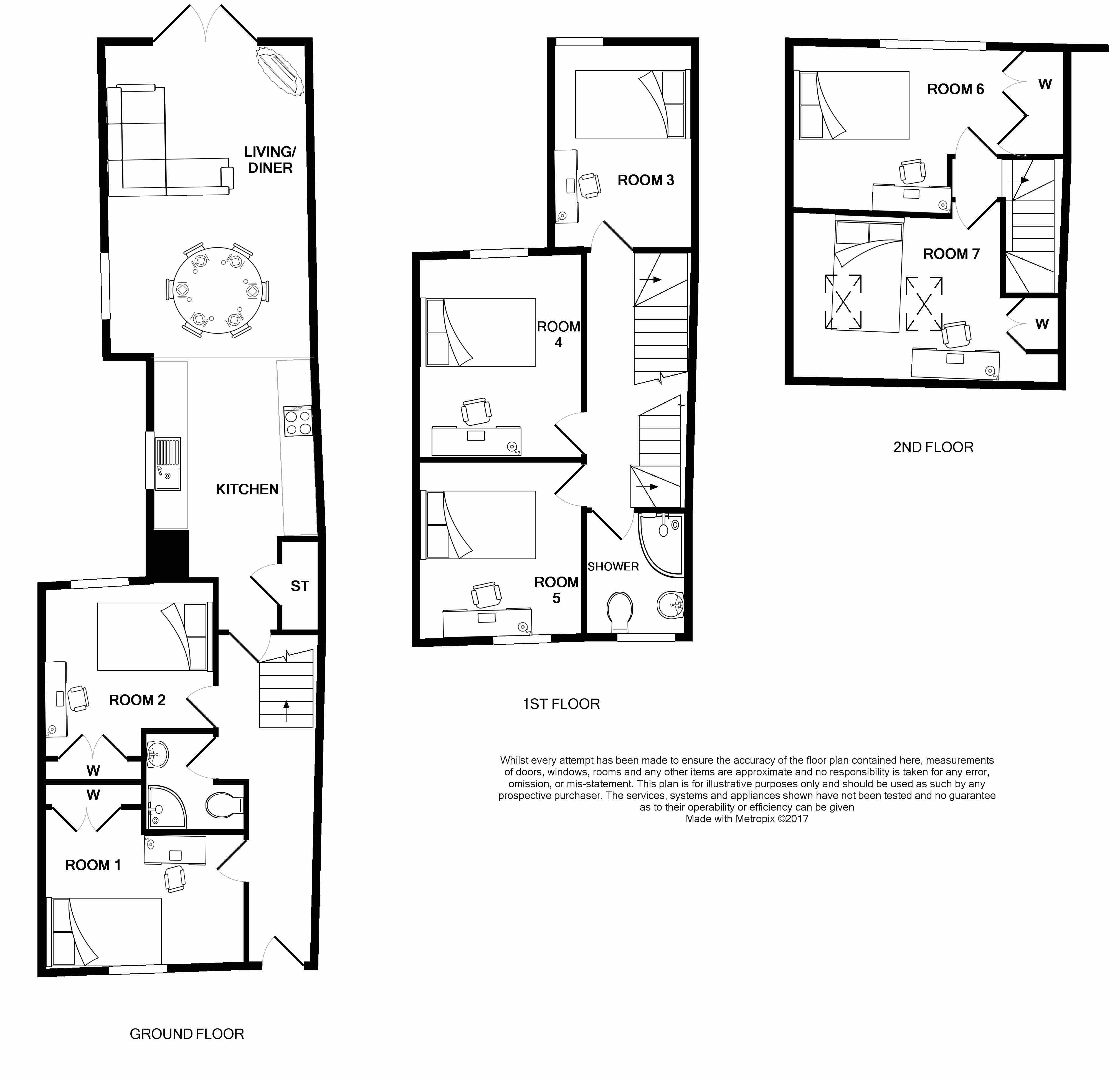 84 Bedford Street floorplans