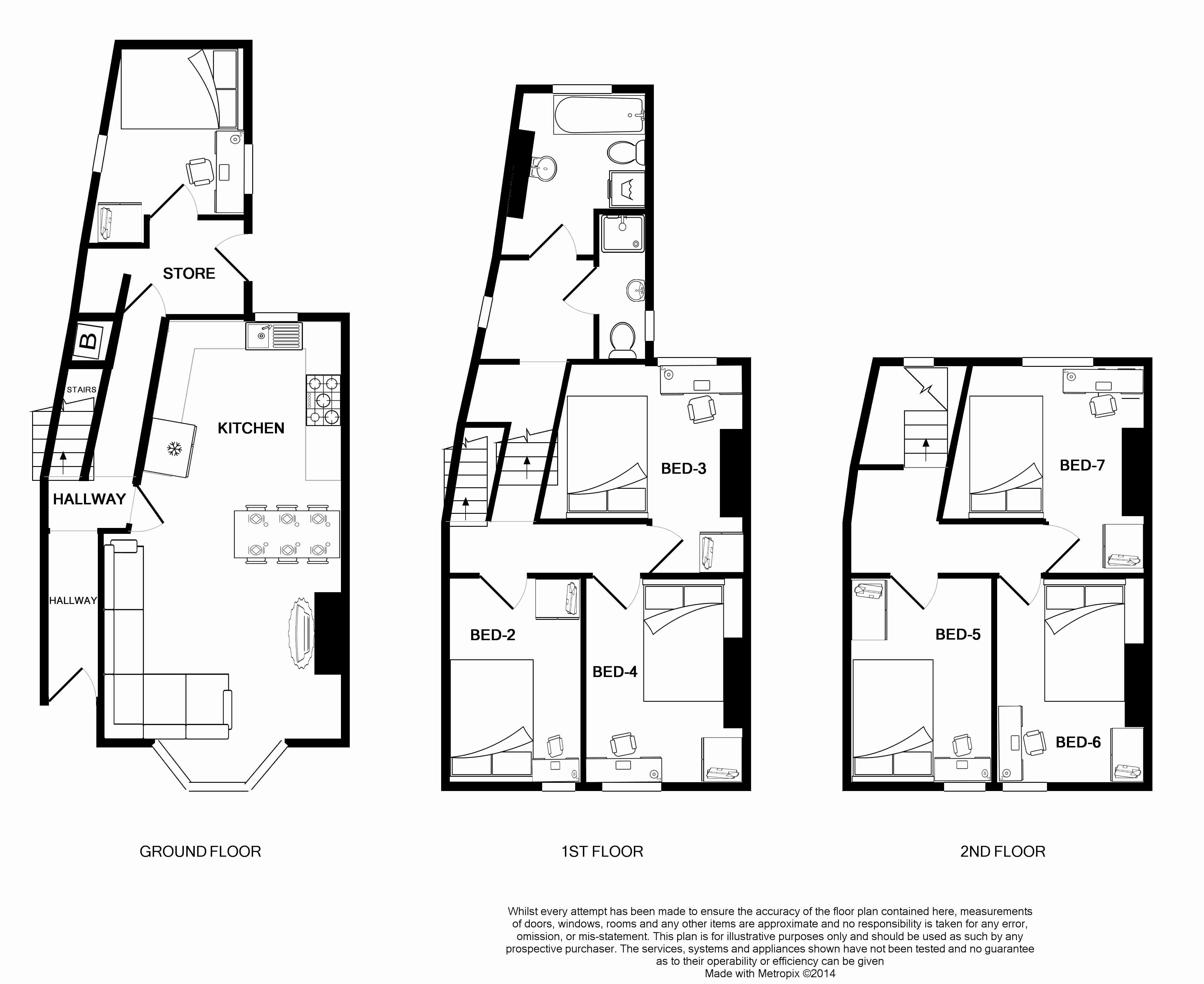 19 Pennsylvania Road Floorplans