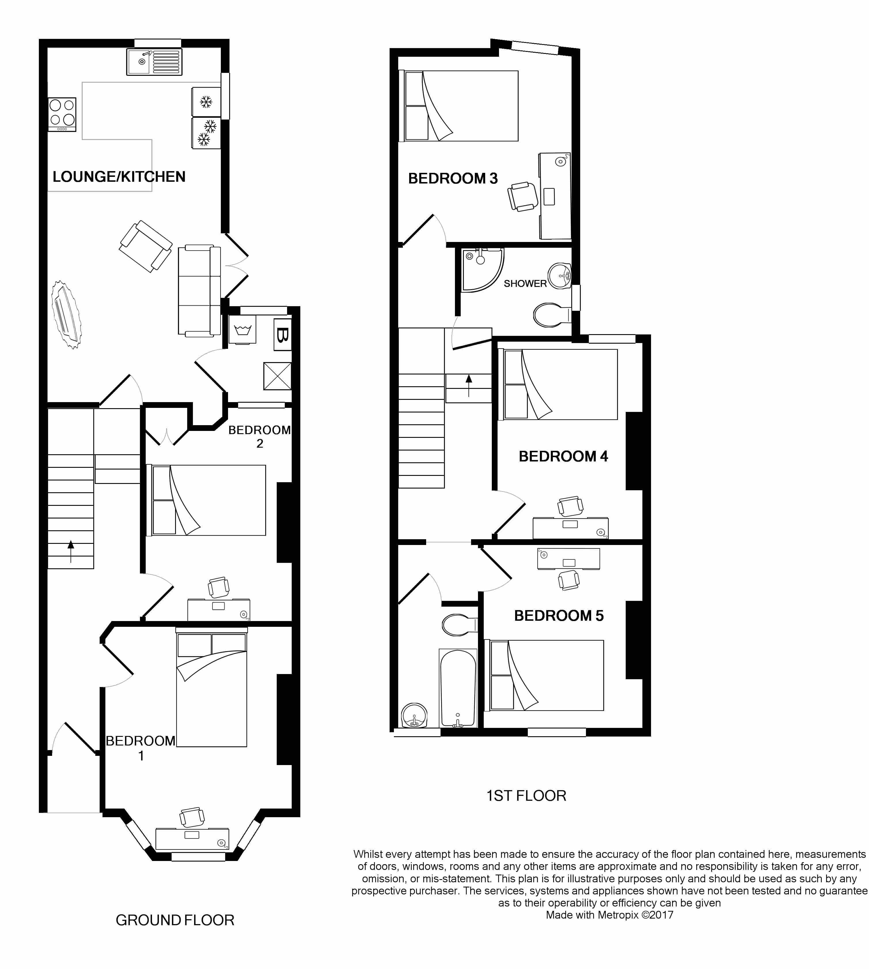 7 Tulloch Street Floorplans
