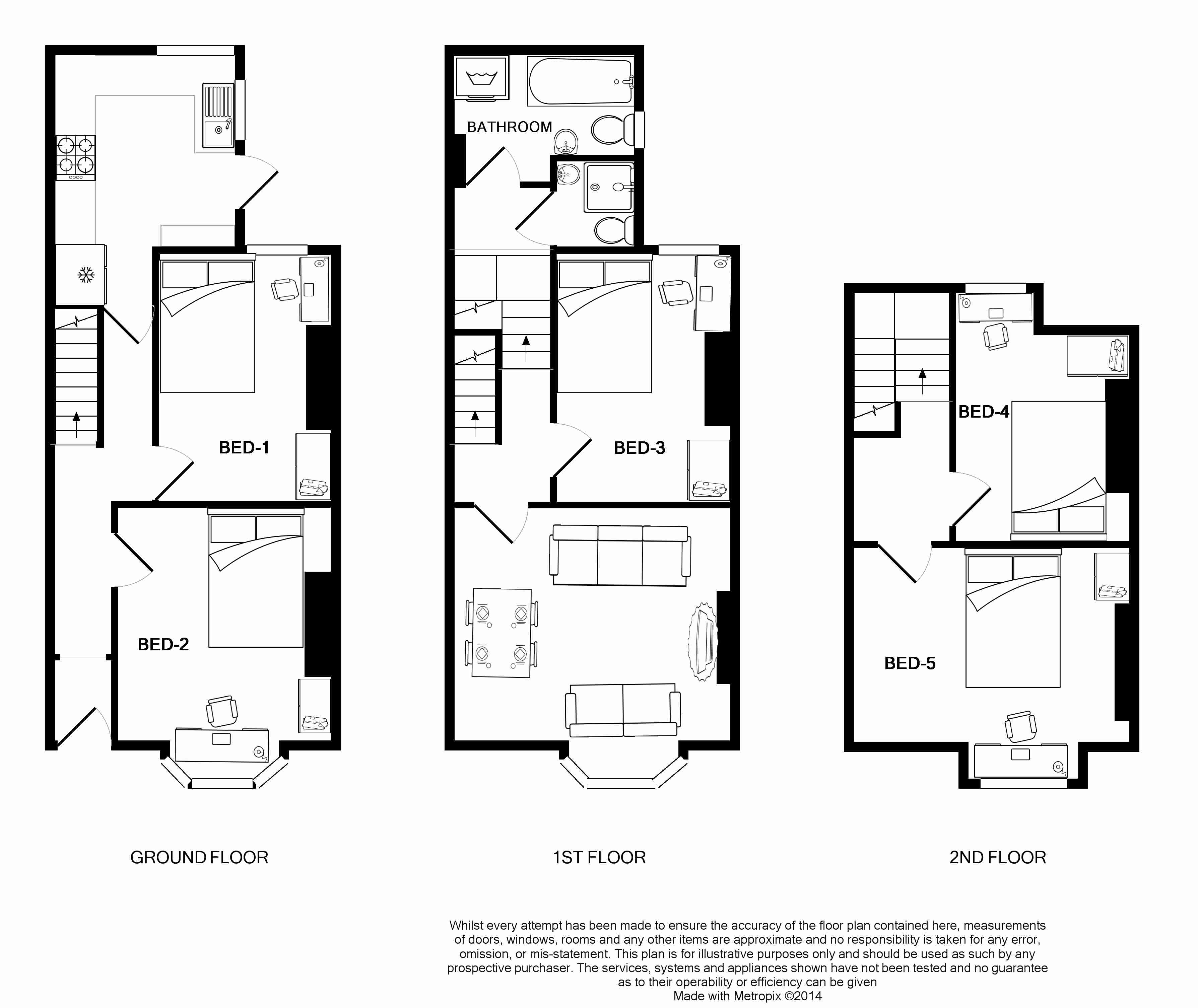 13 Mowbray Avenue Floorplans
