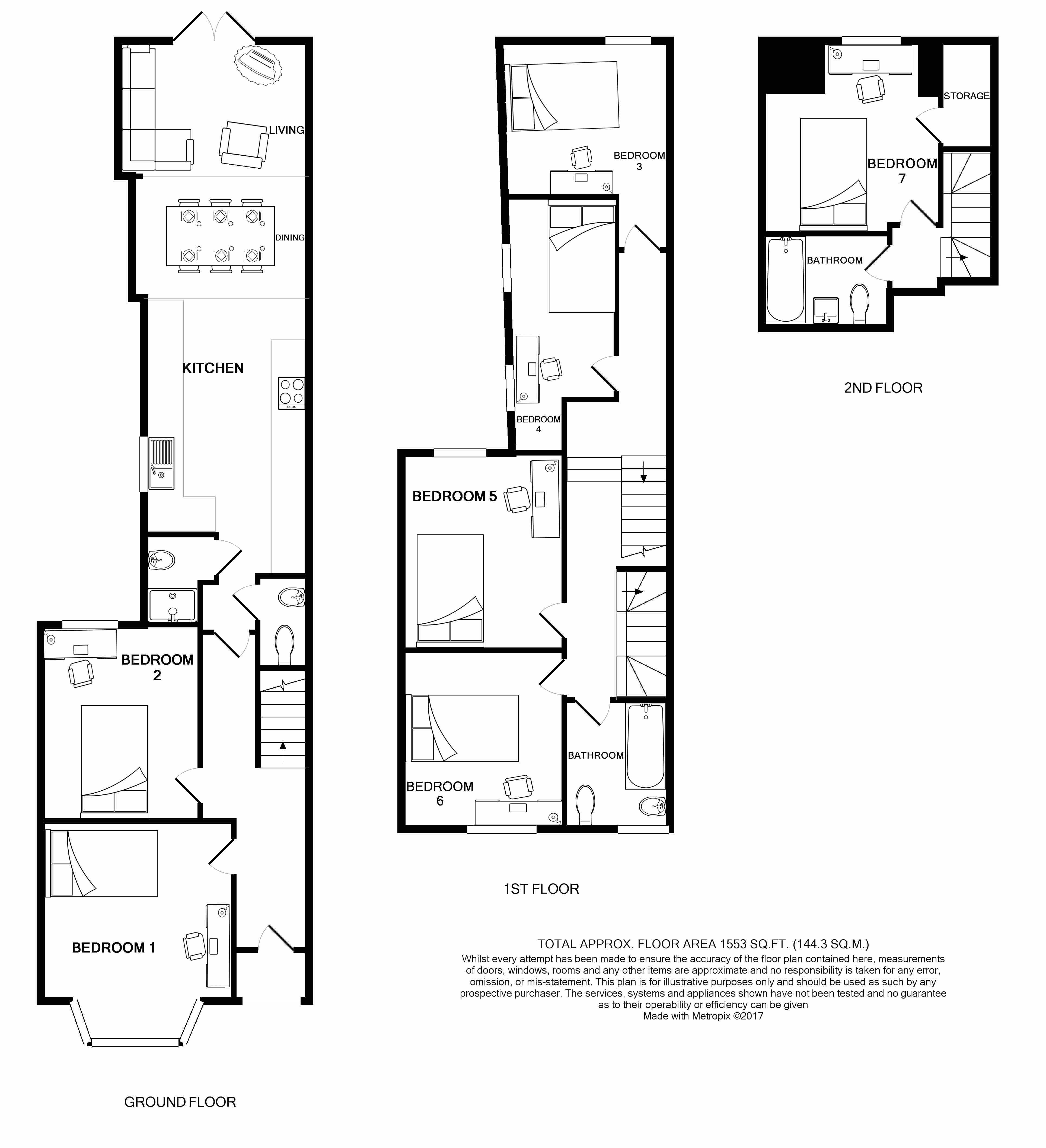 5 Lochaber Street Floorplans