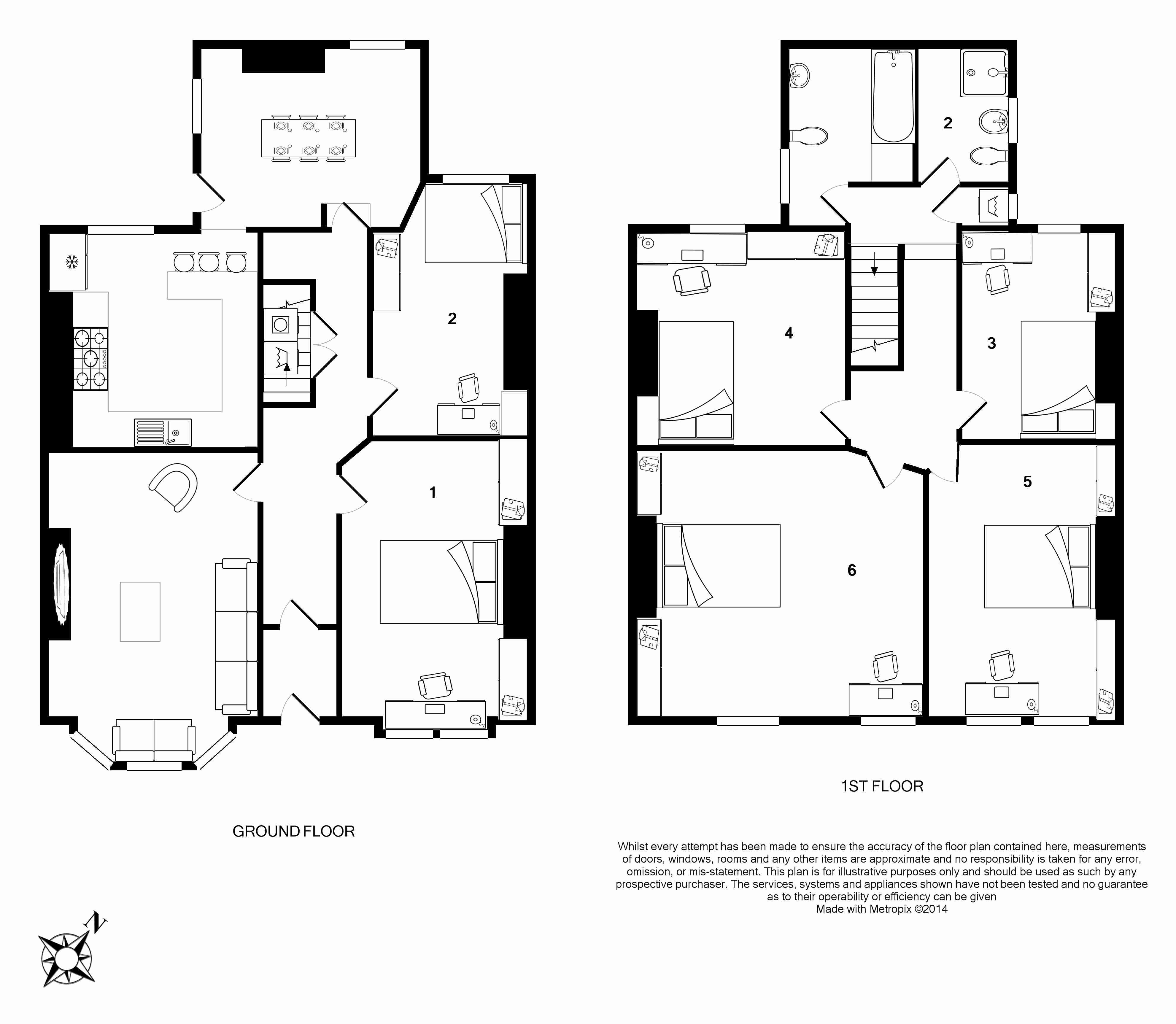 5 Langdale Road Floorplans
