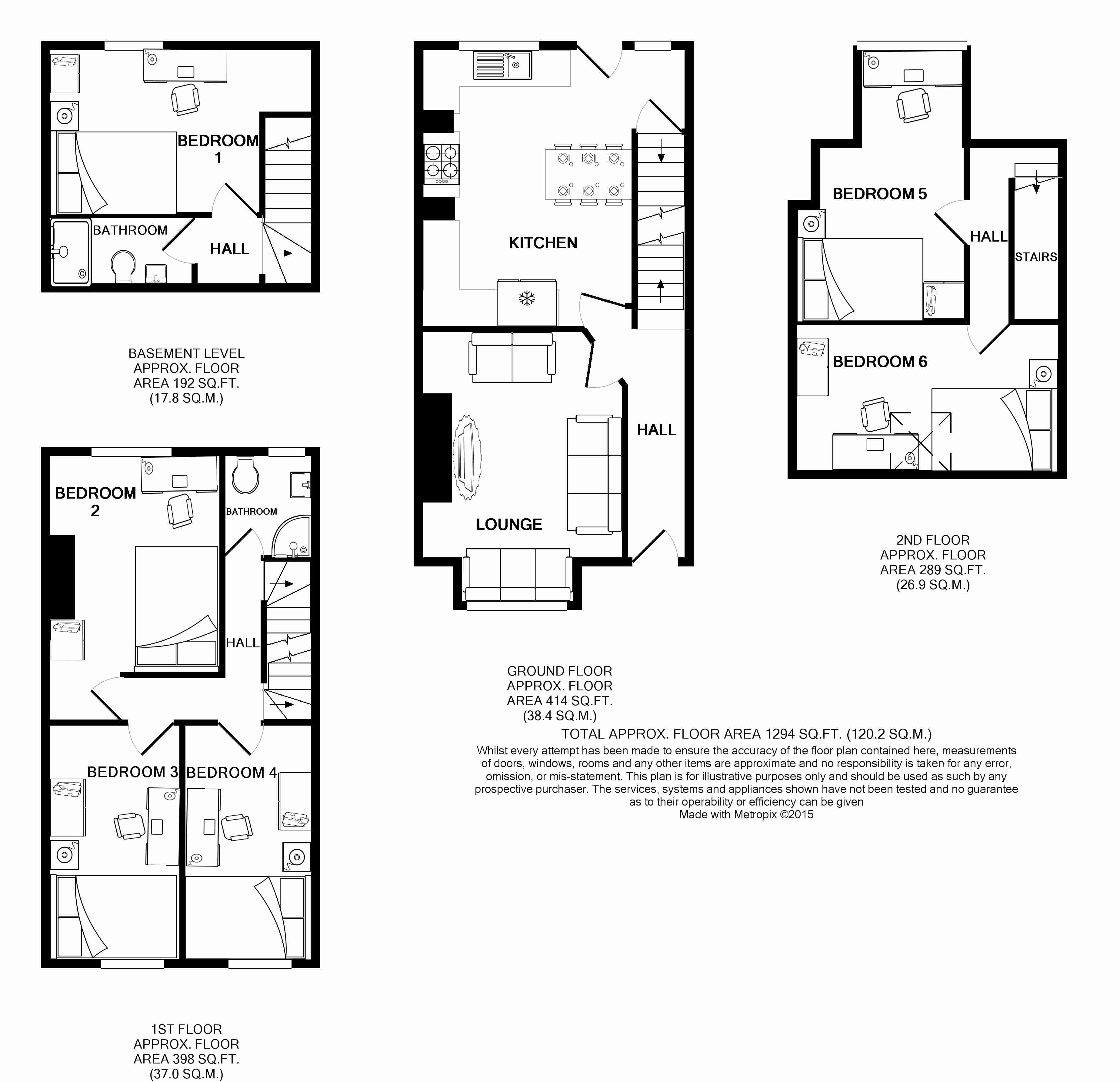 25 Hessle Terrace Floorplans