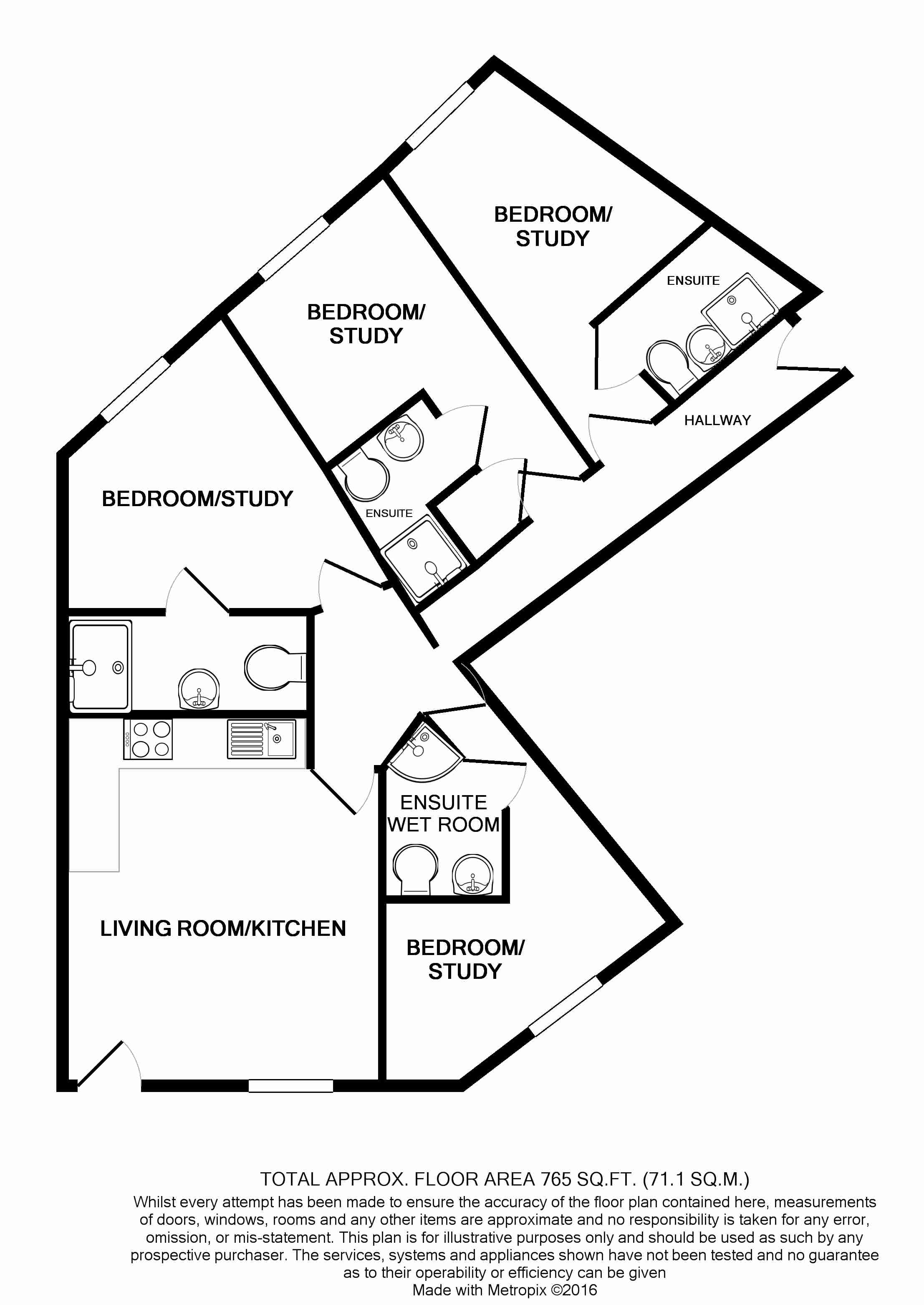 1 The Tannery Floorplans