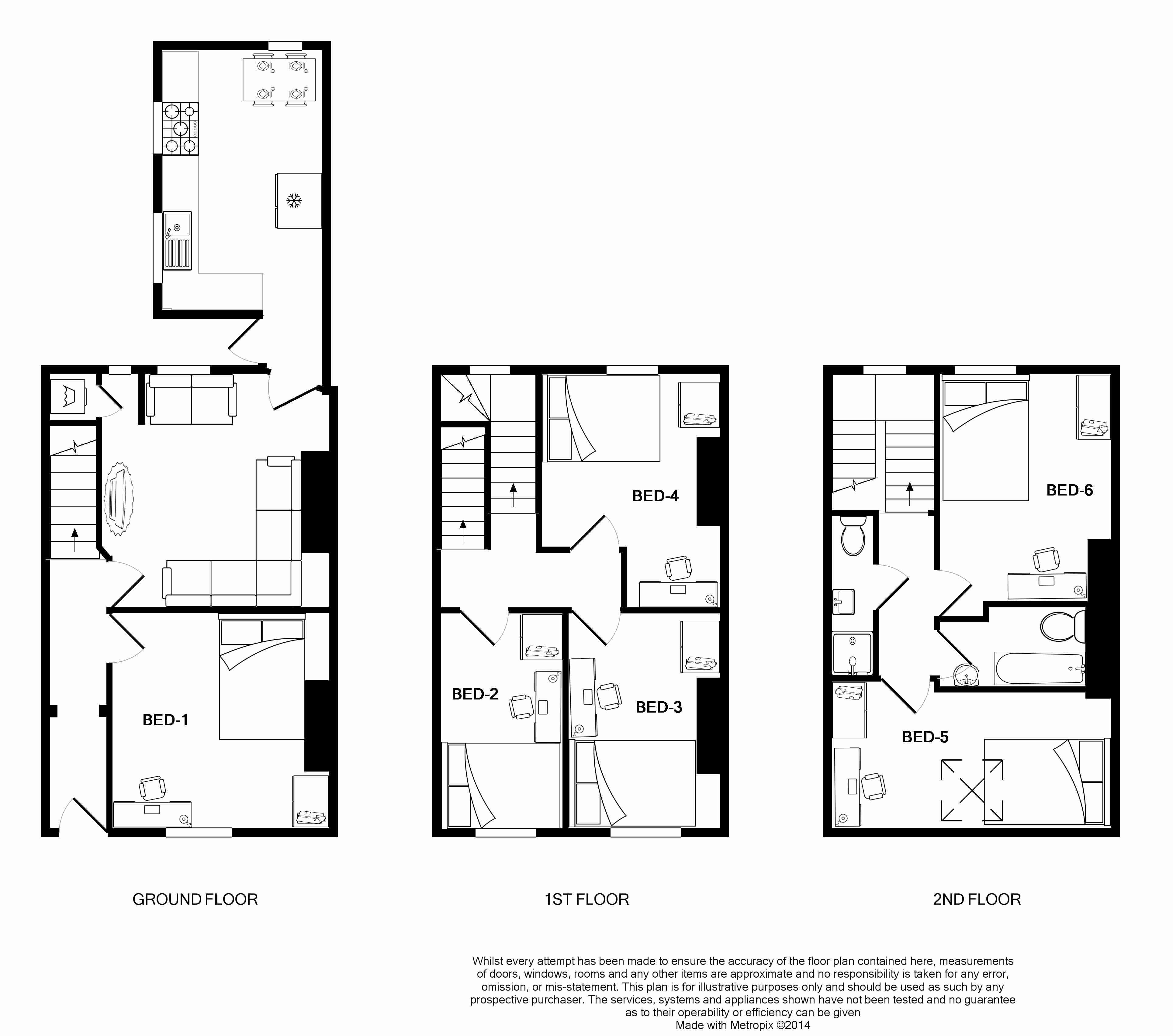 23 Victoria Street Floorplans