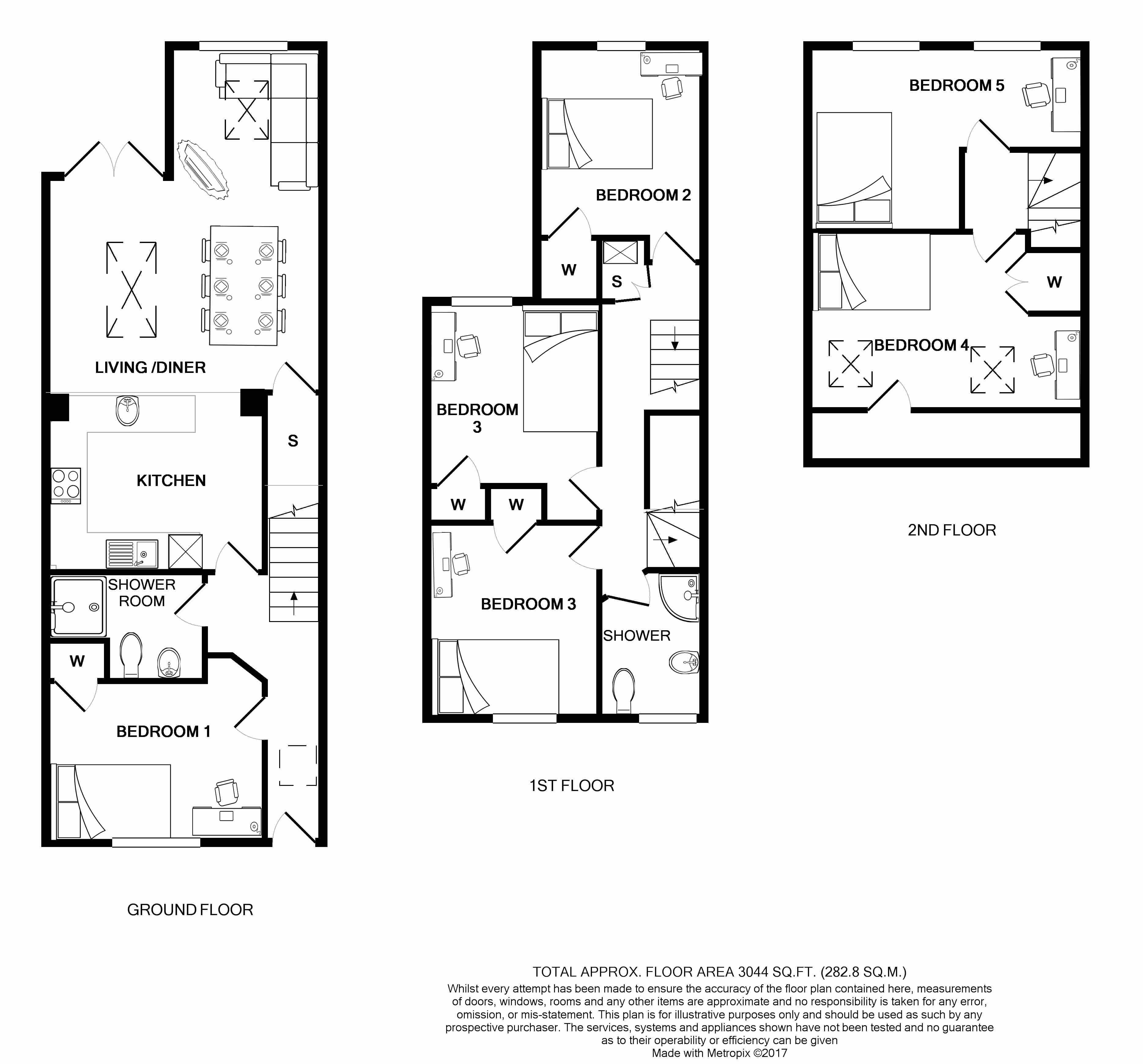 19 Cranbrook Street Floorplans
