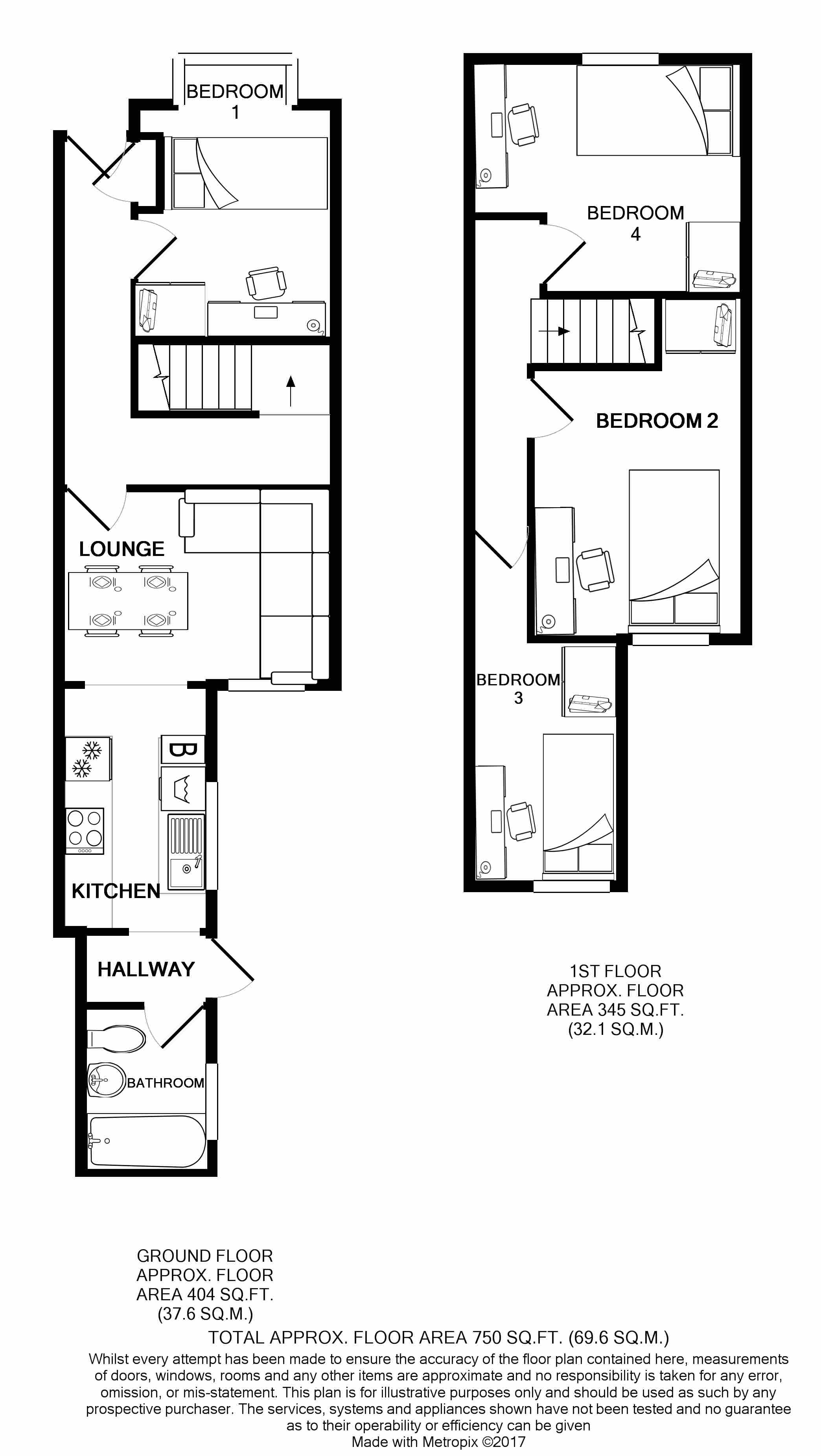 219 Leek Road Floorplans