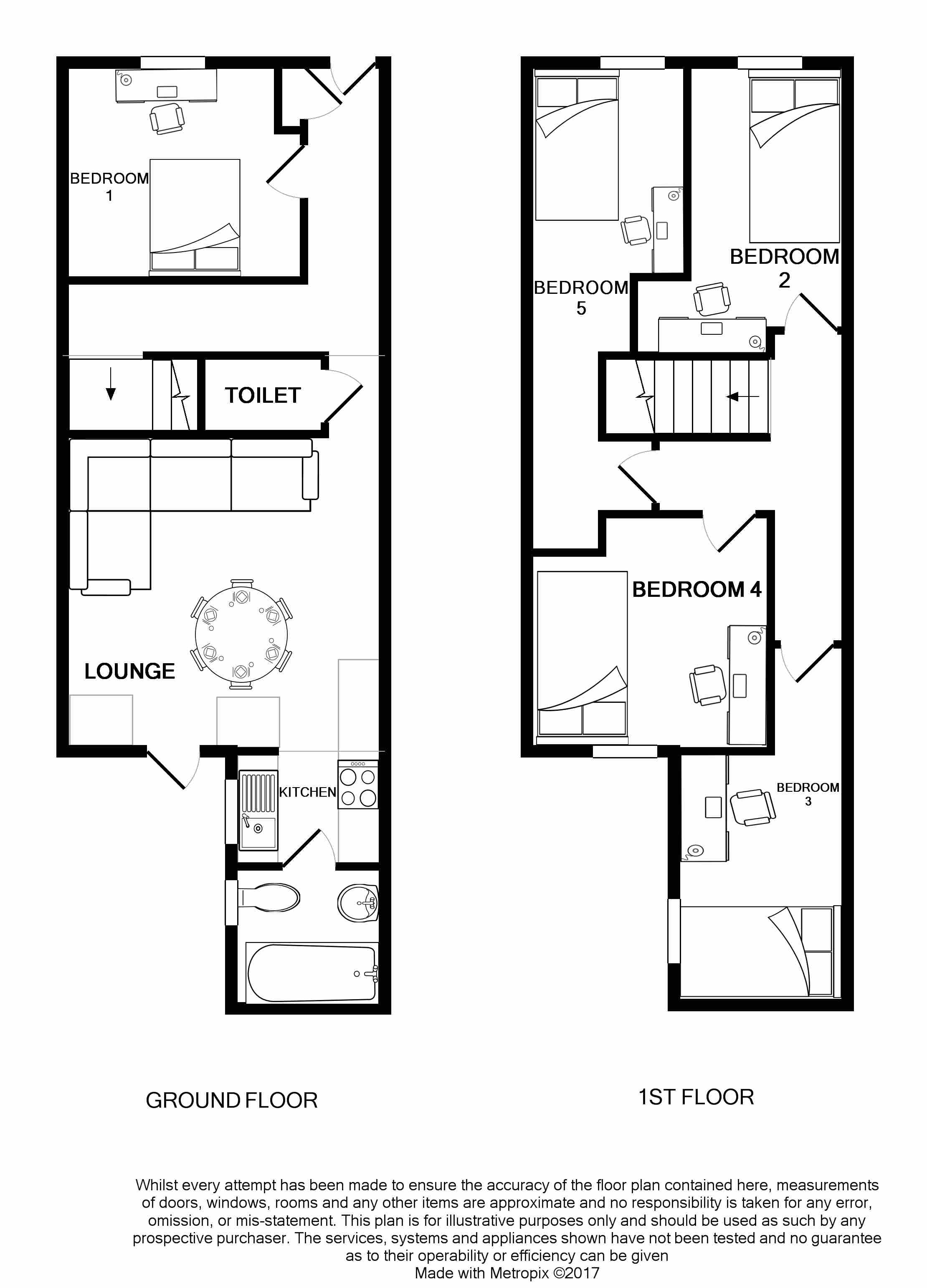 18 Cauldon Road Floorplans