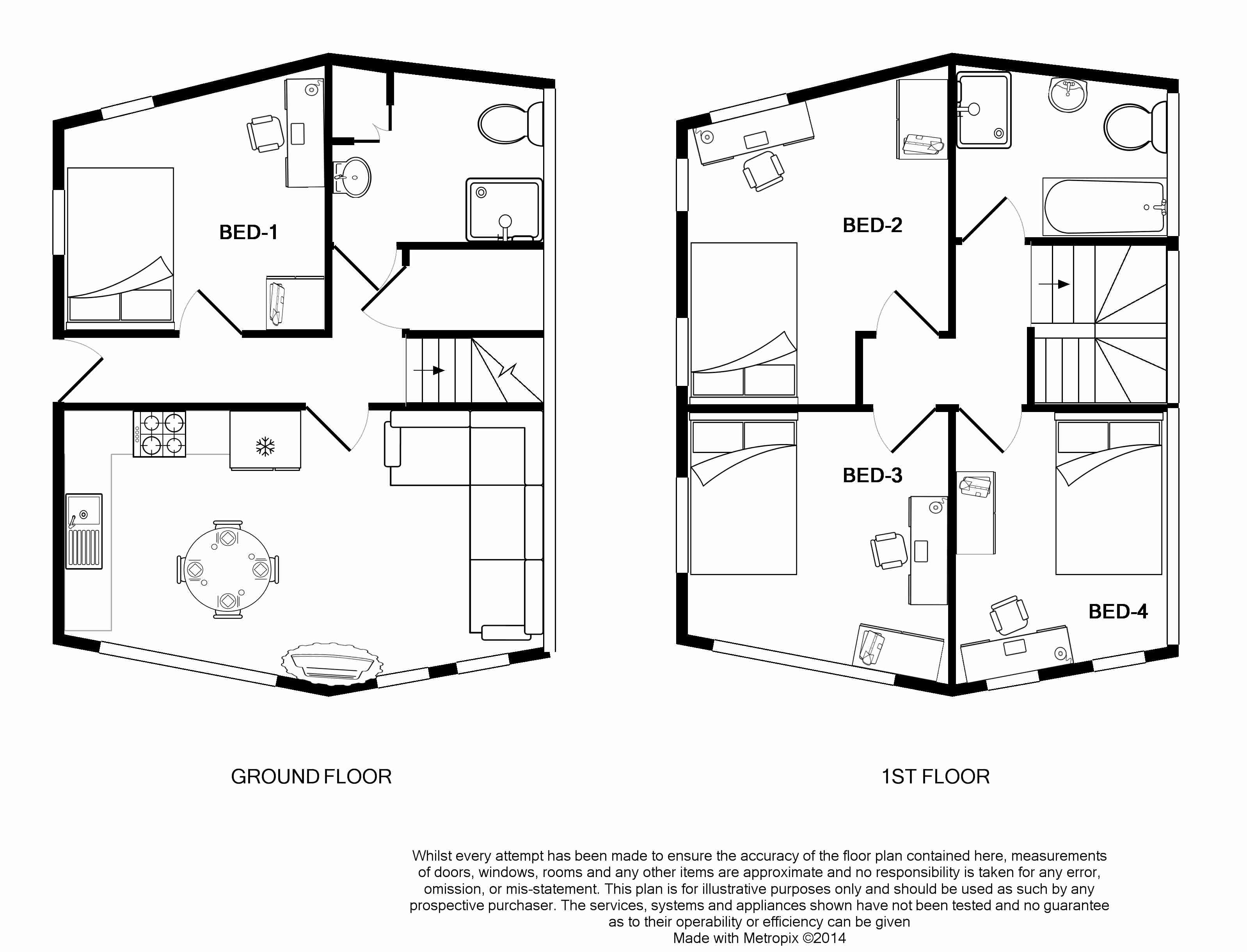 2 St Clements Lane Floorplans