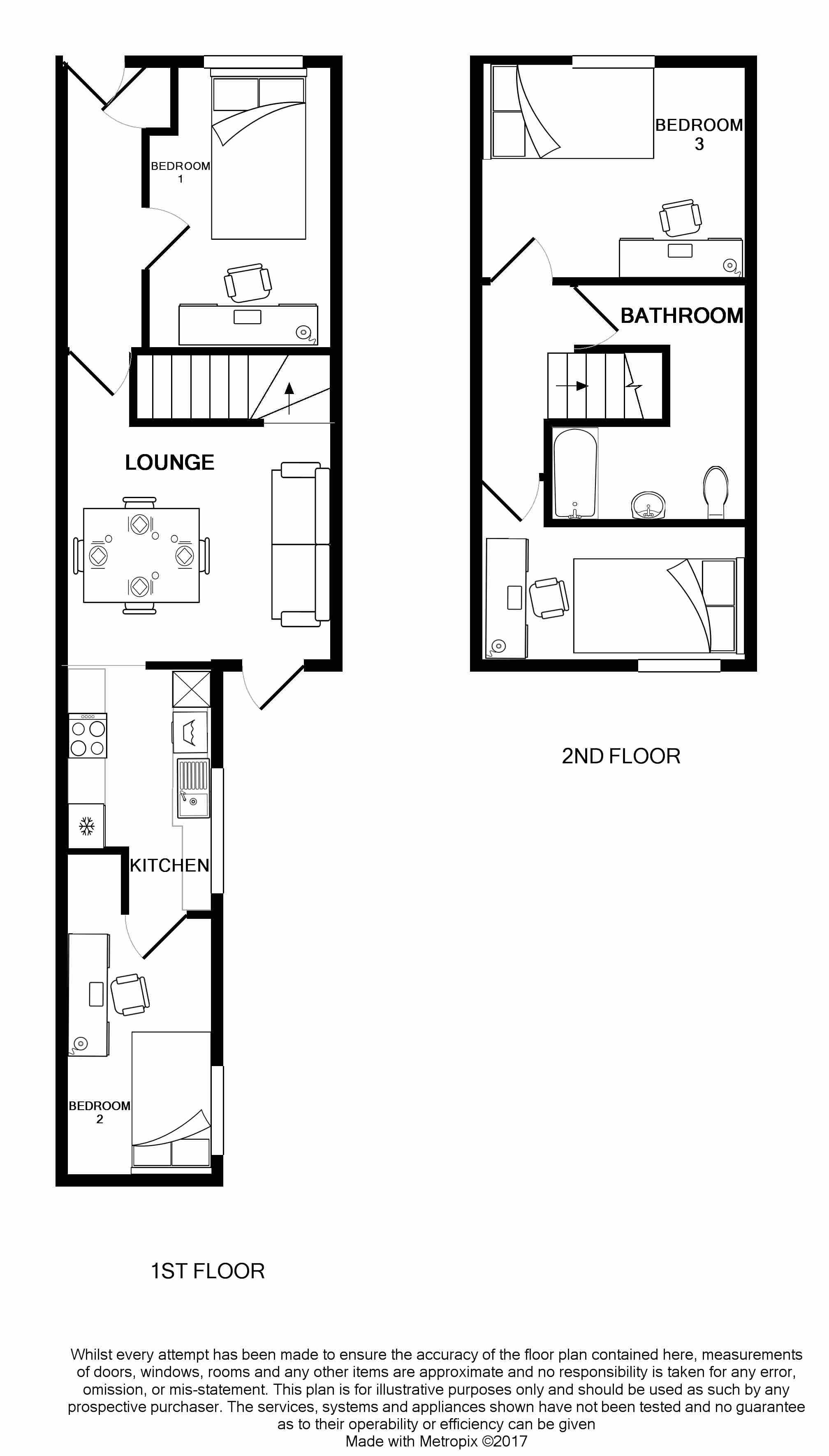 23 Carlton Road Floorplans