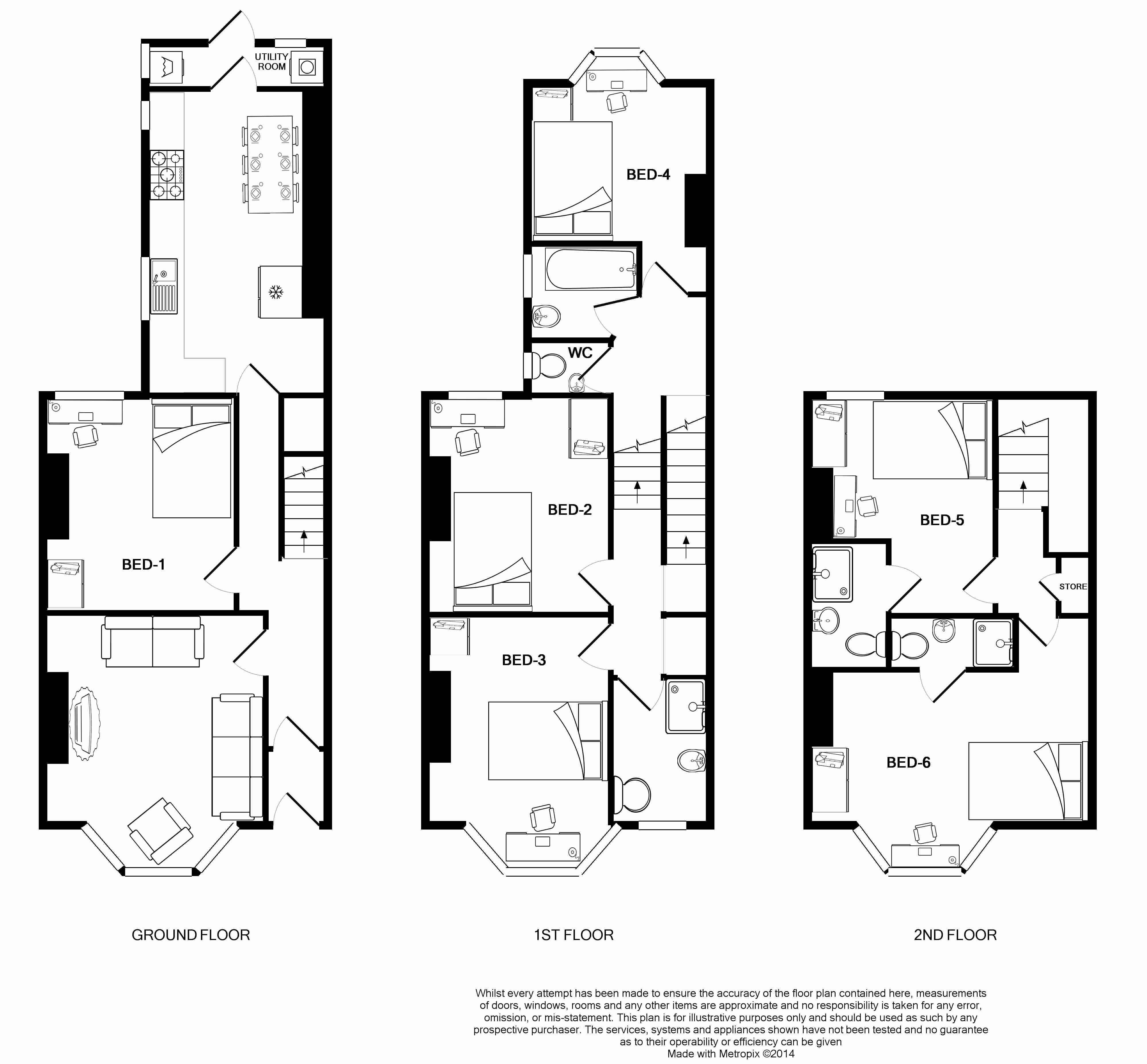 21 Mount Pleasant Road Floorplans
