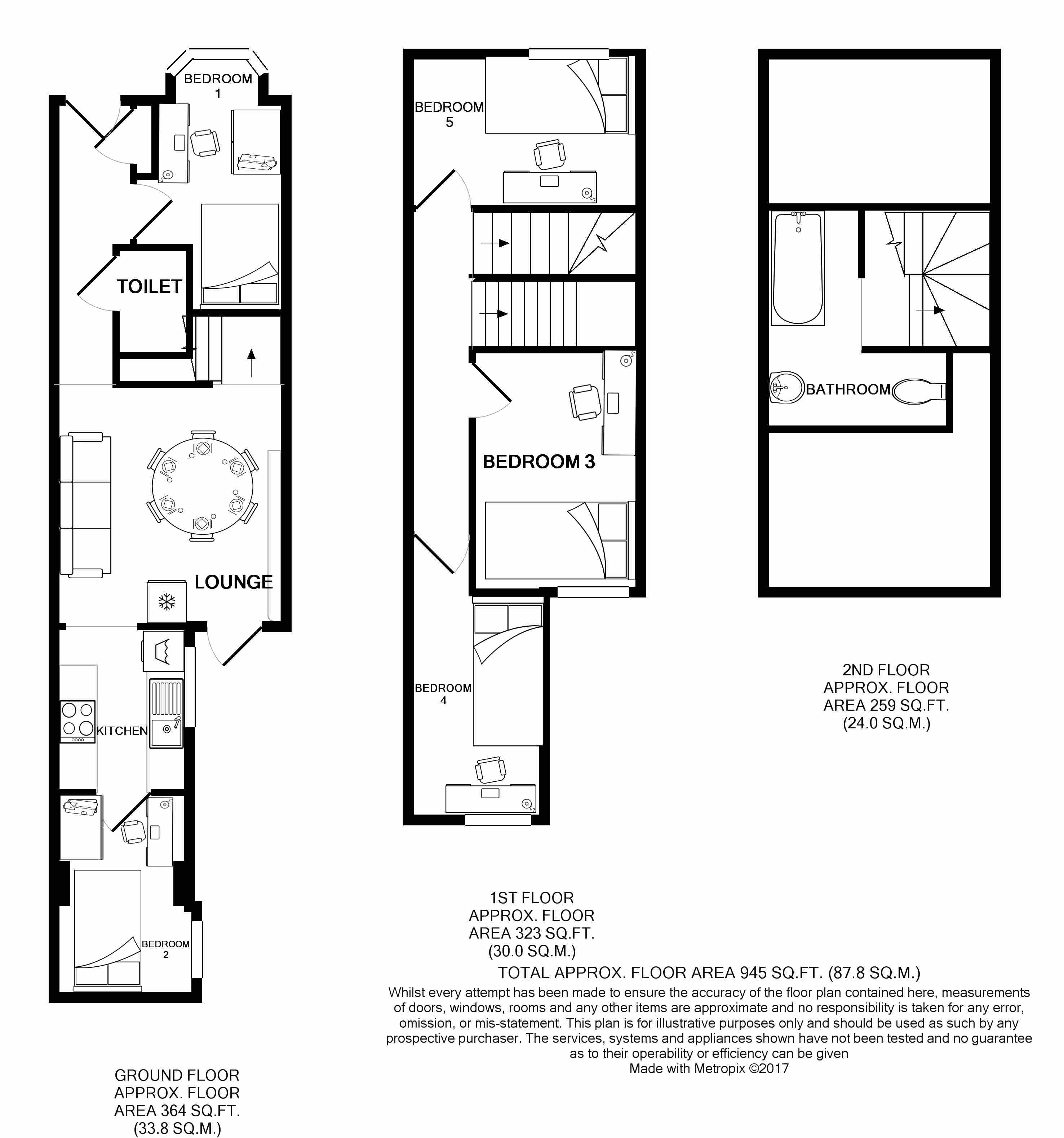 231 Leek Road Floorplans