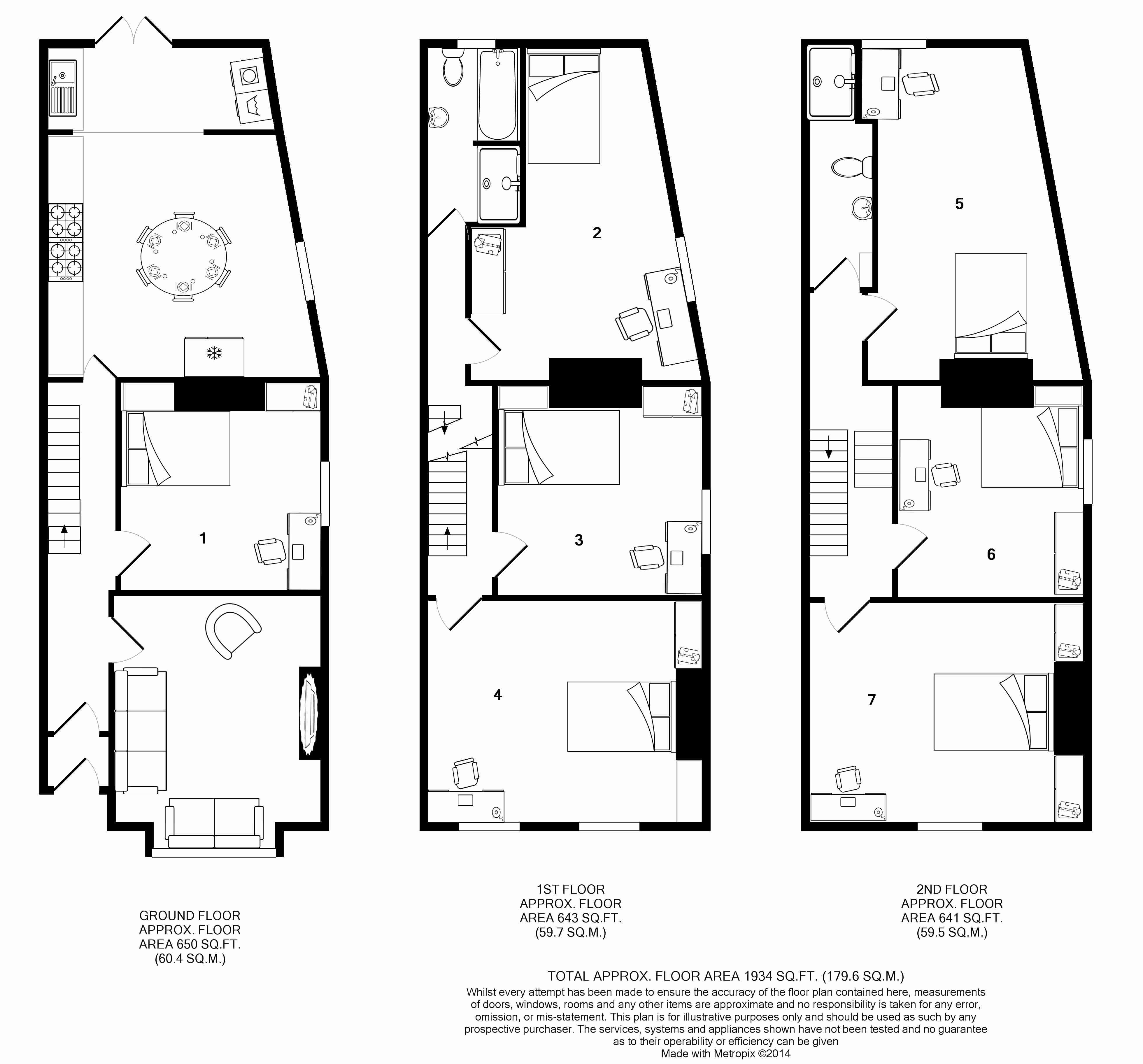 271 Smithdown Road Floorplans