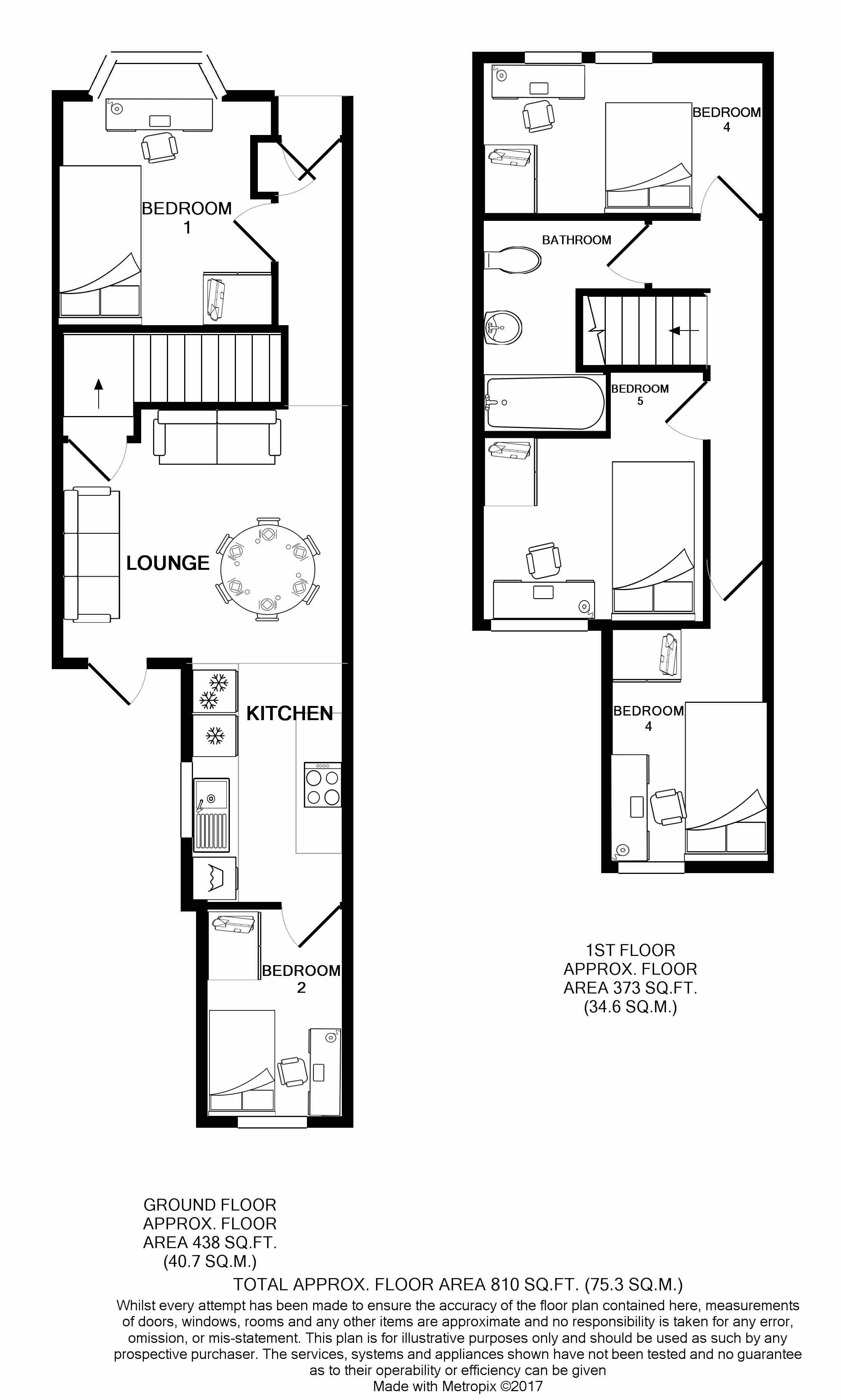 233 Leek Road Floorplans