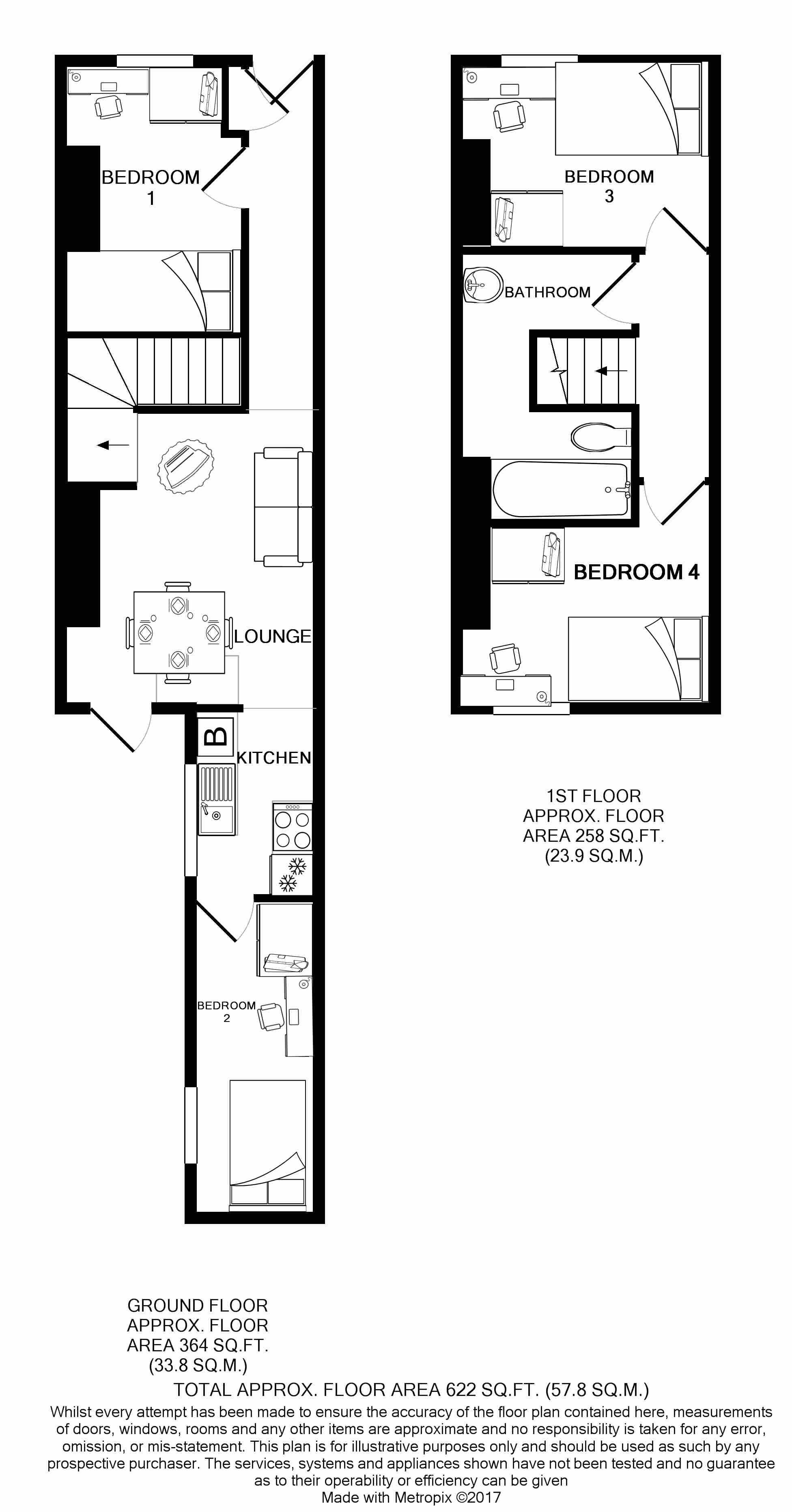 13 Heath Street Floorplans