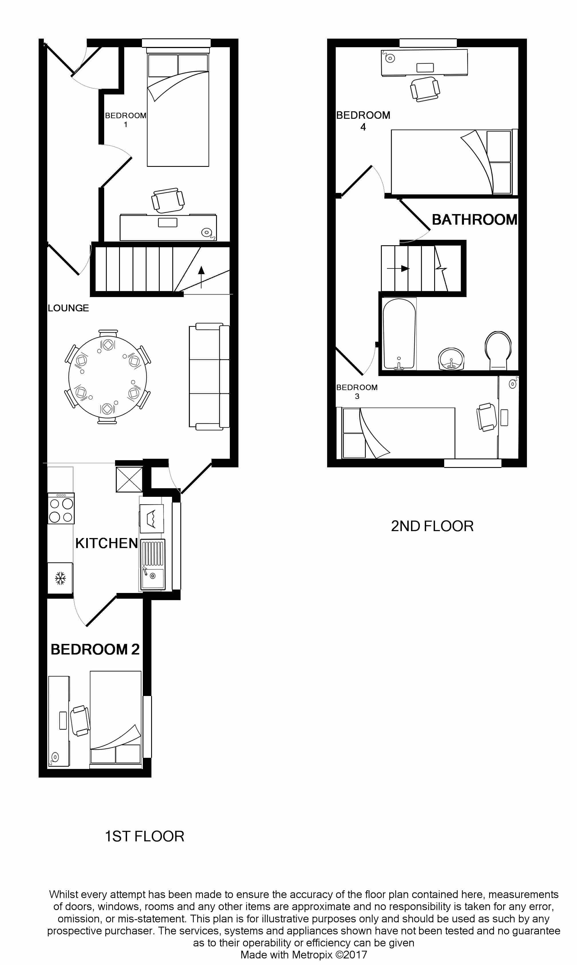 19 Carlton Road Floorplans