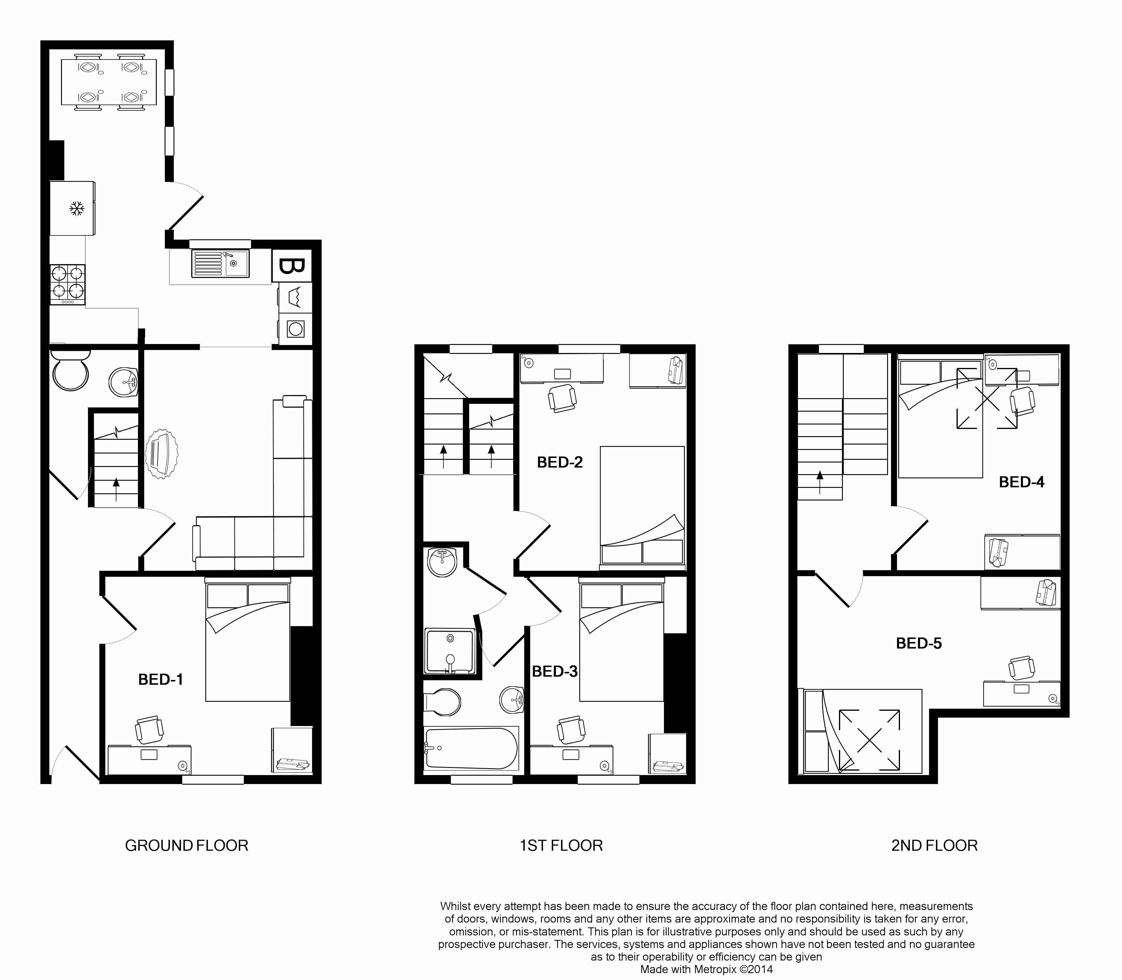 16 Victoria Street Floorplans