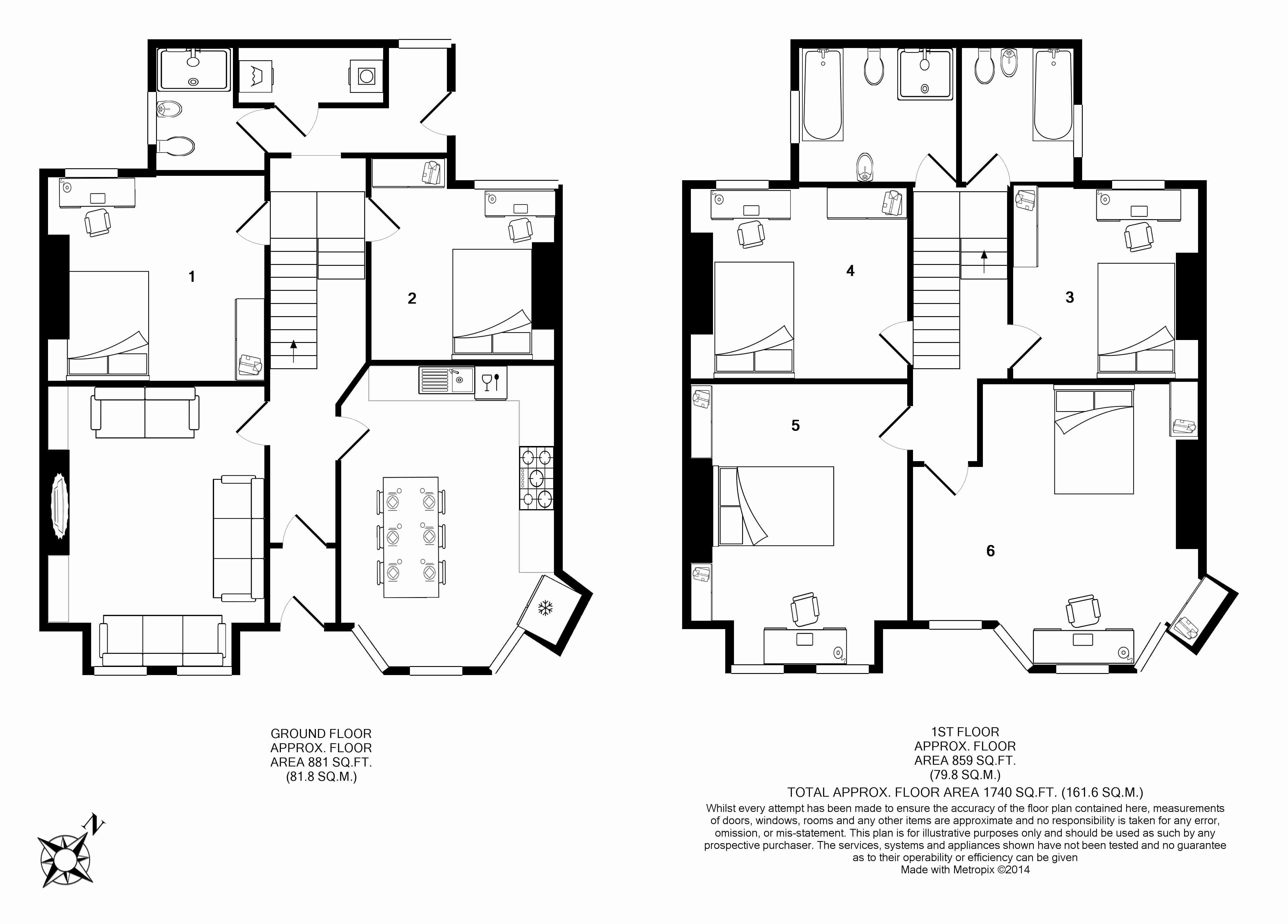 63 Borrowdale Road Floorplans