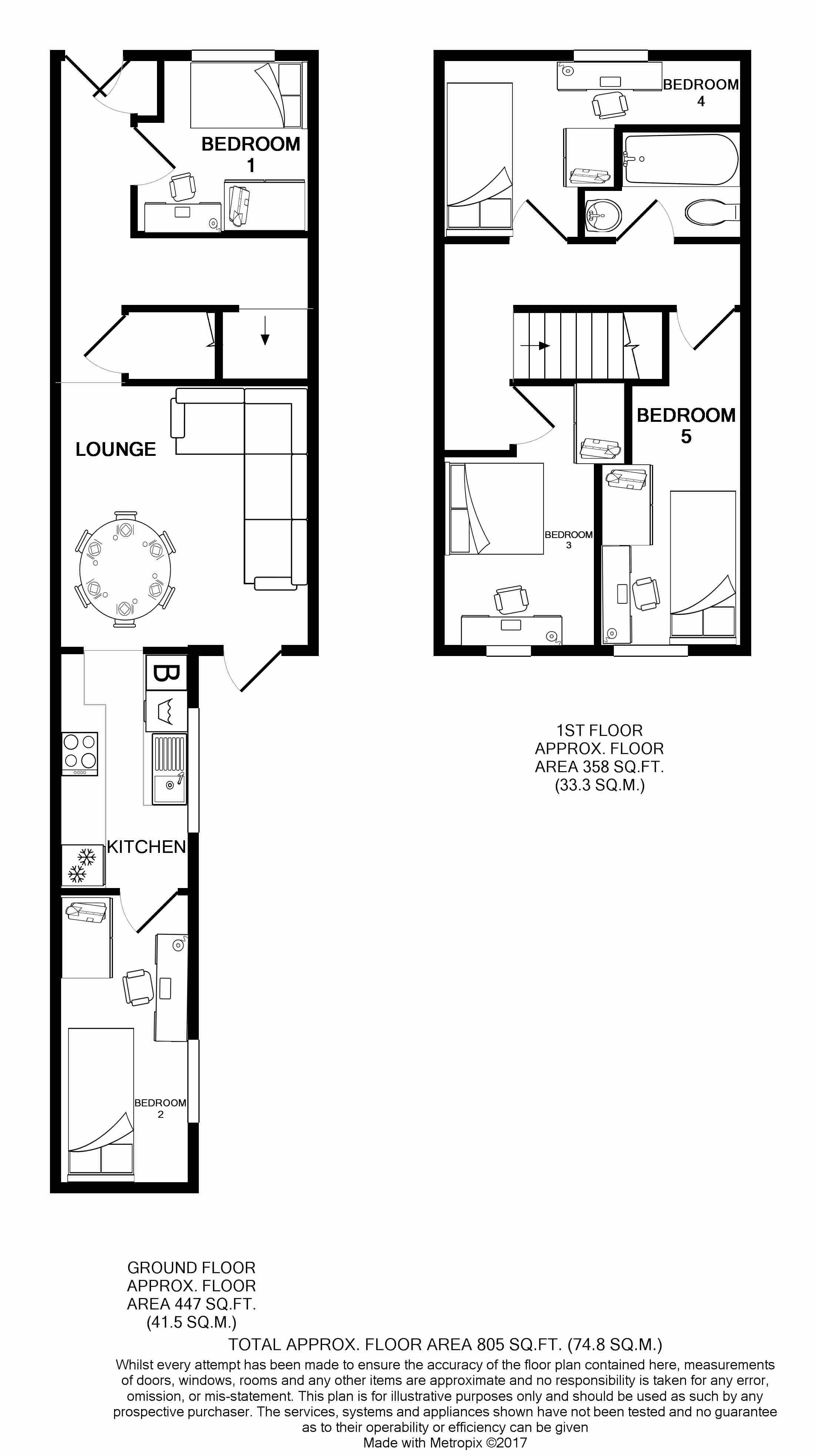 24 Seaford Street Floorplans