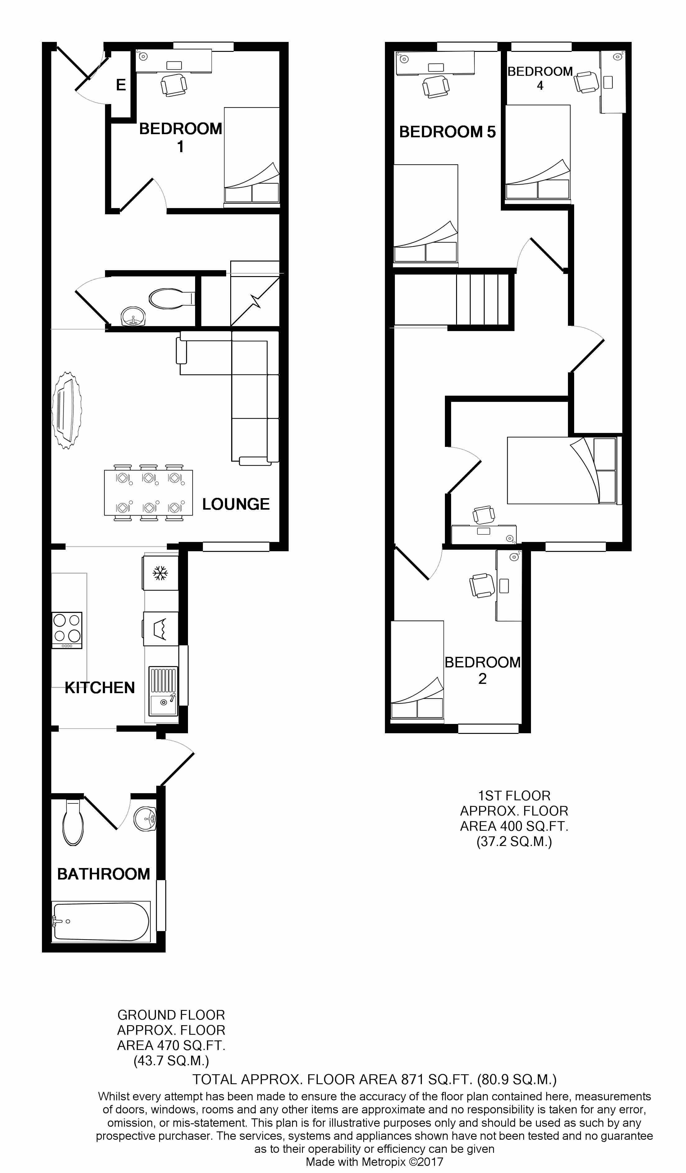 128 Ashford Street Floorplans