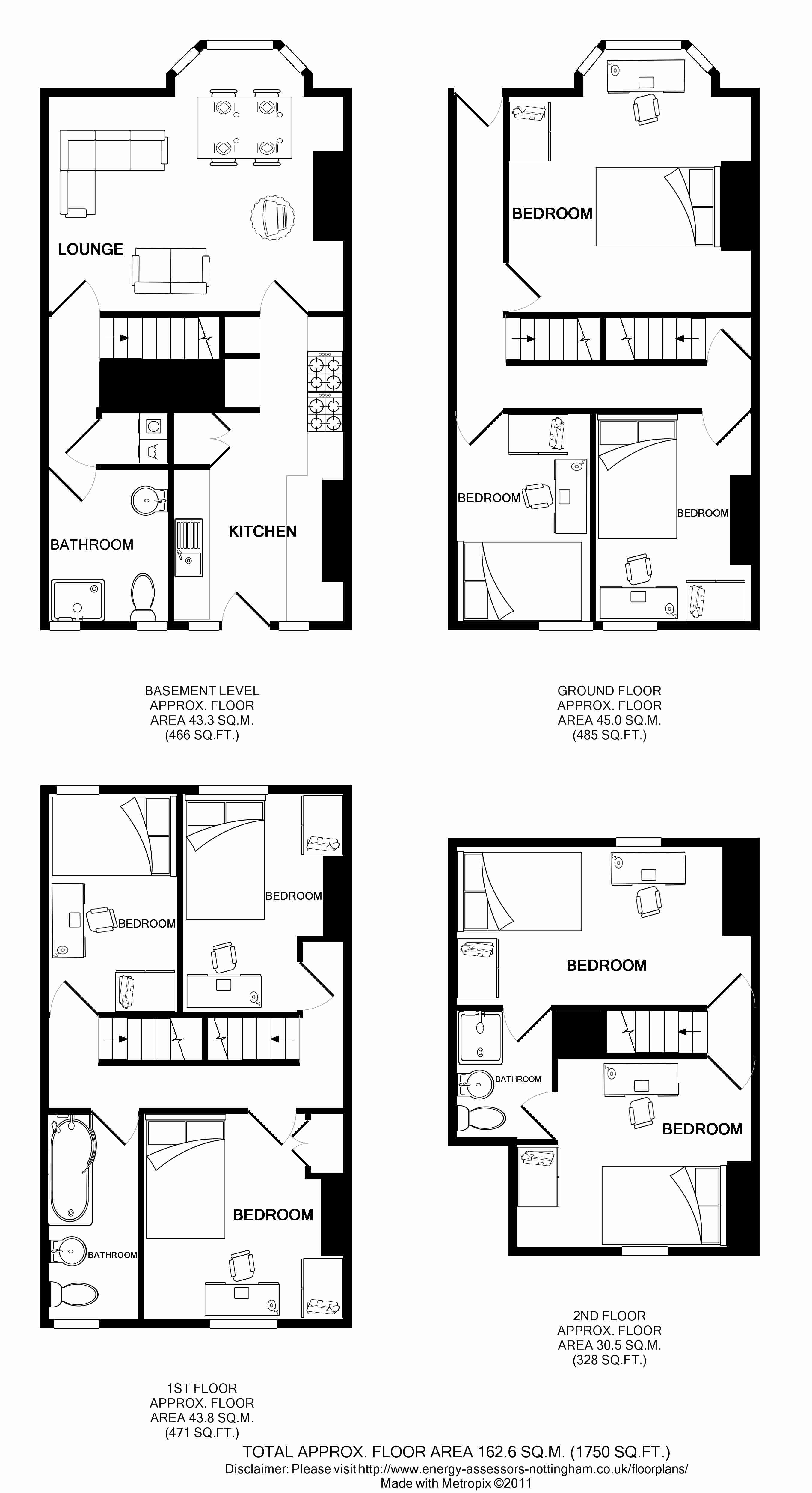 54 Queens Road Floorplans
