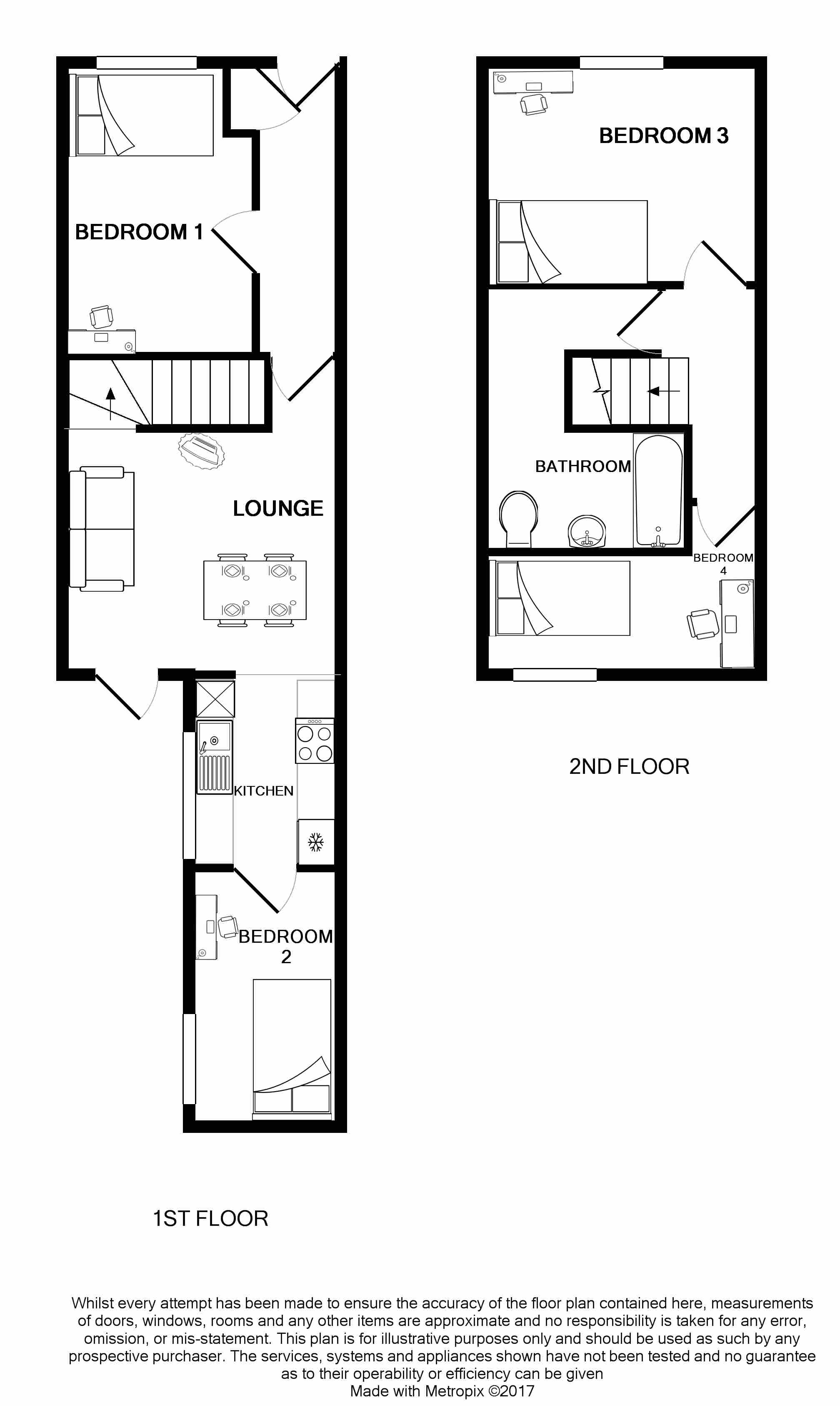 17 Carlton Road Floorplans