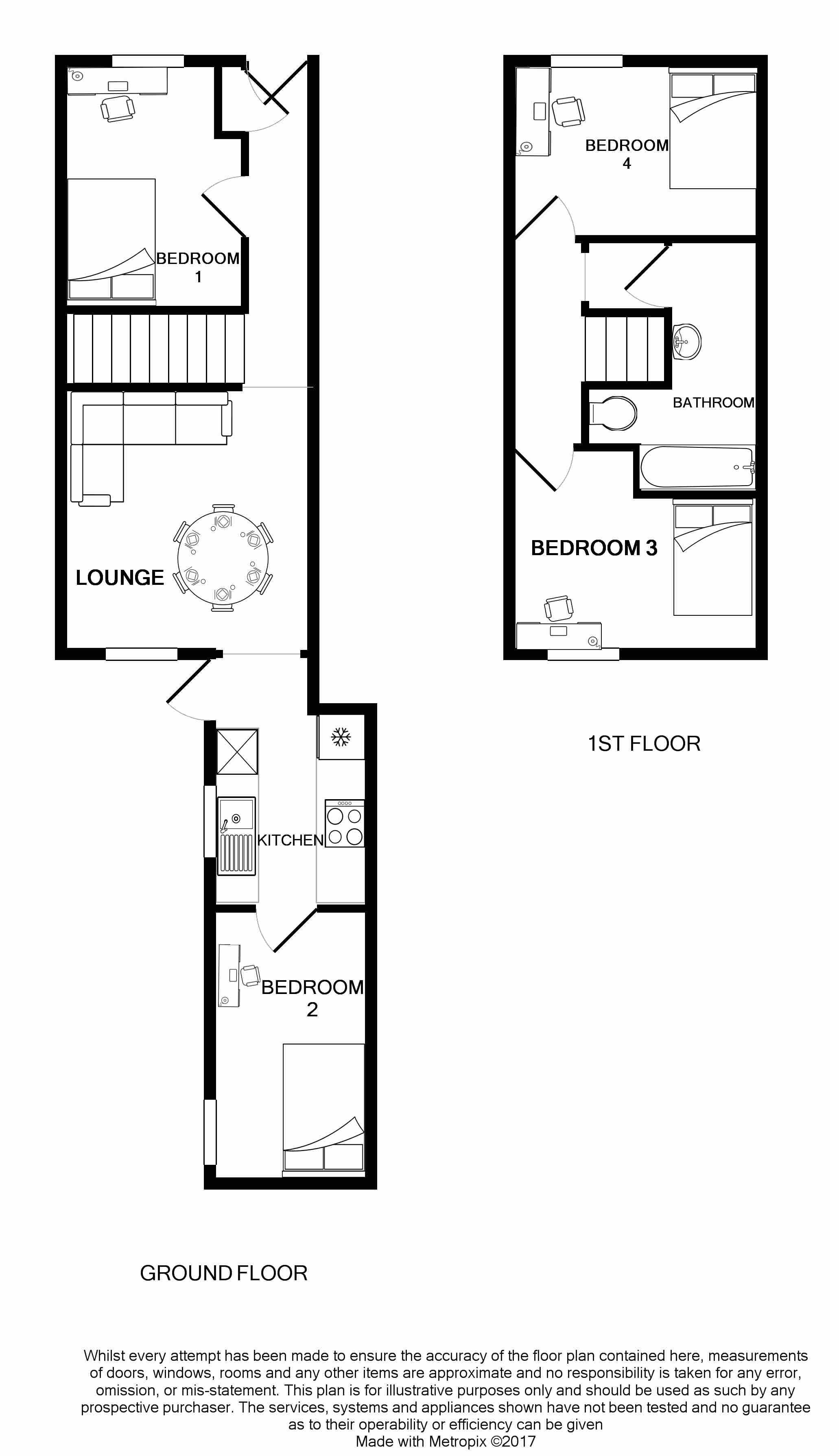 17 Queen Anne Street Floorplans