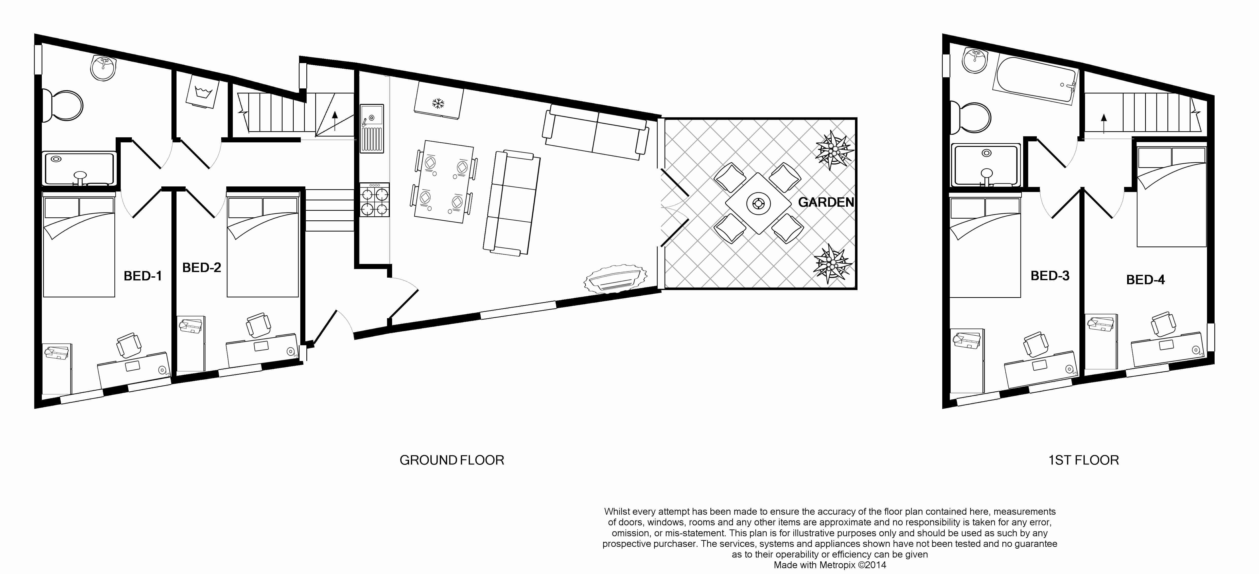 1 St Clements Lane Floorplans