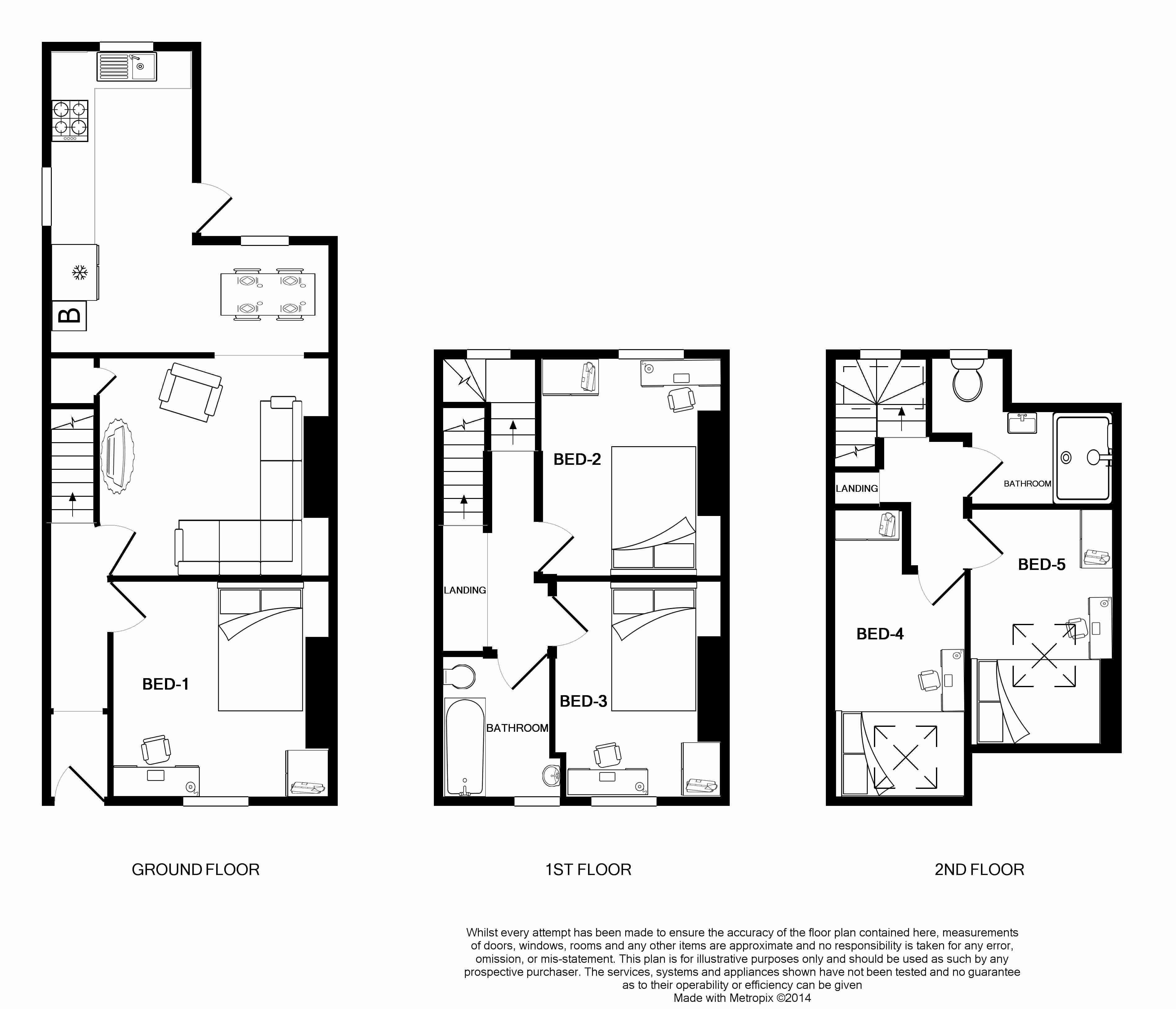 17 Victoria Street Floorplans