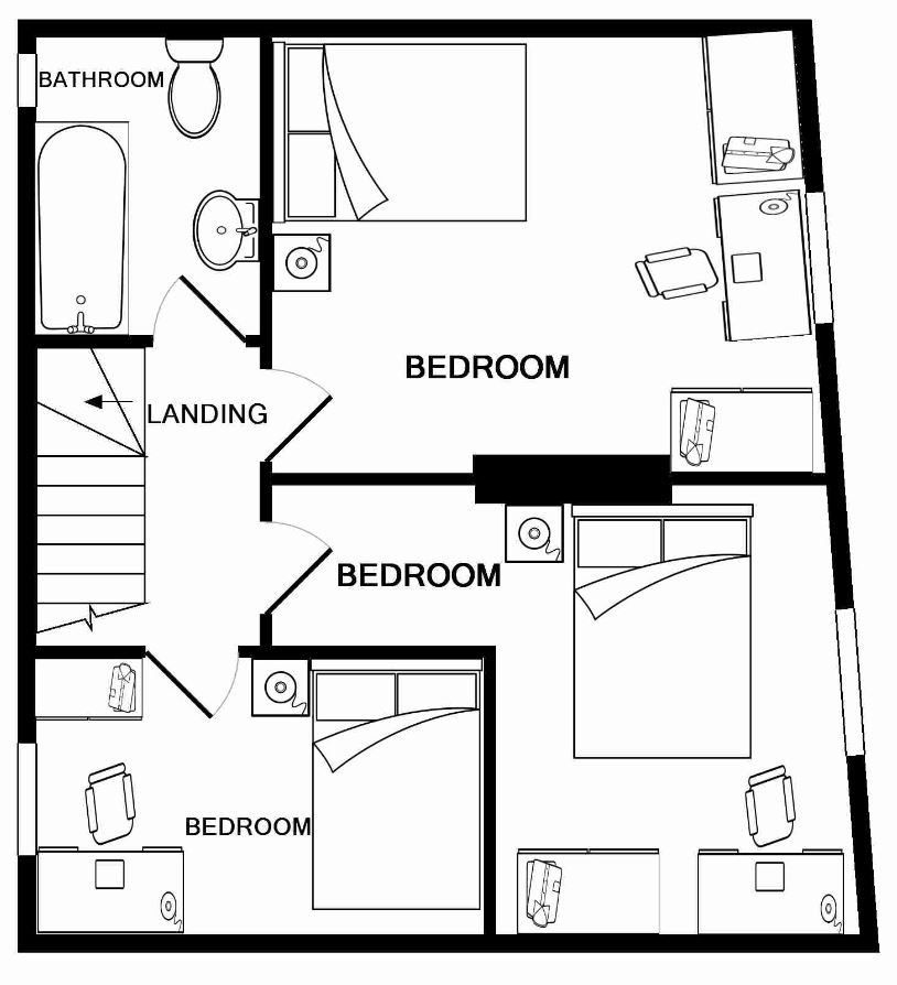 2 Forest Grove Second Floor Plan