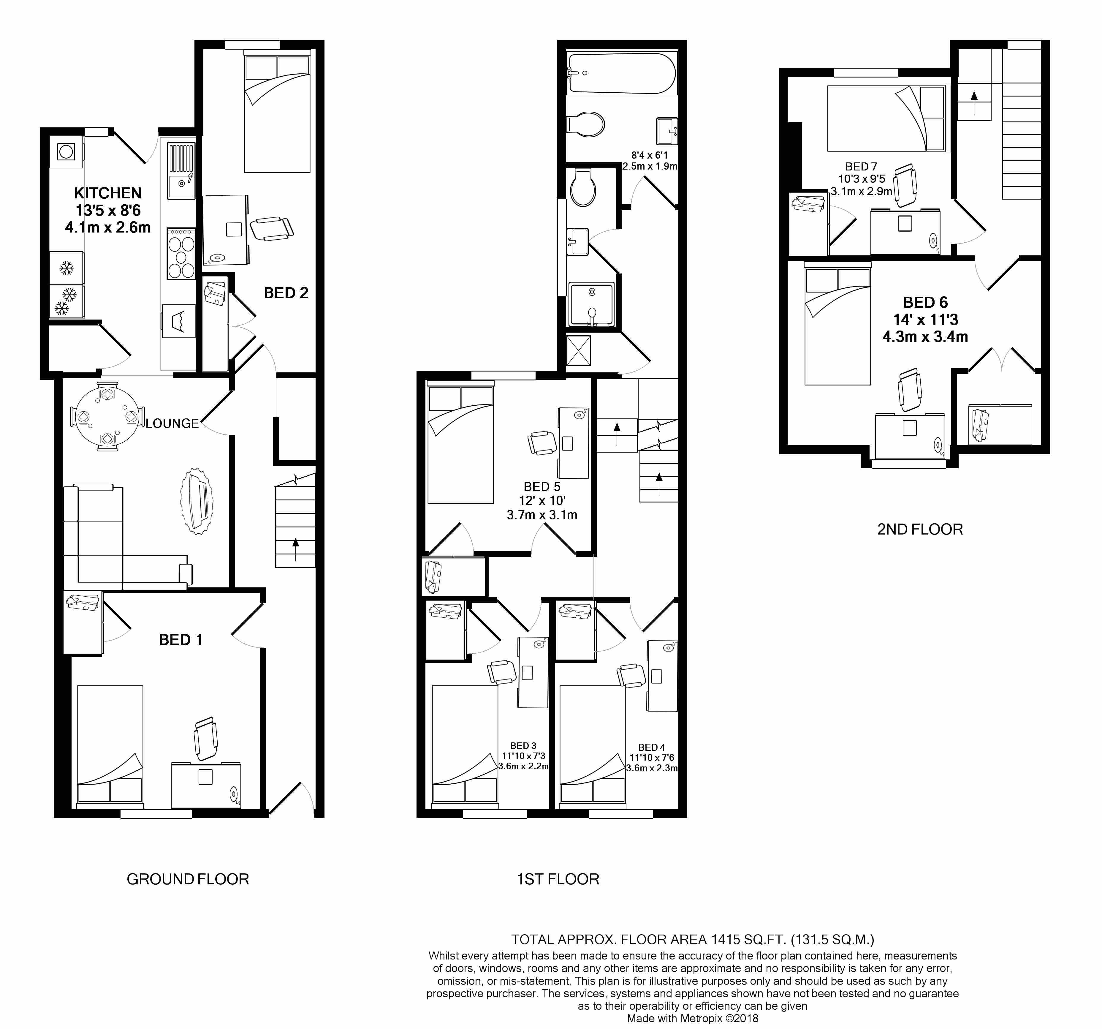 39 Elmside -floorplans