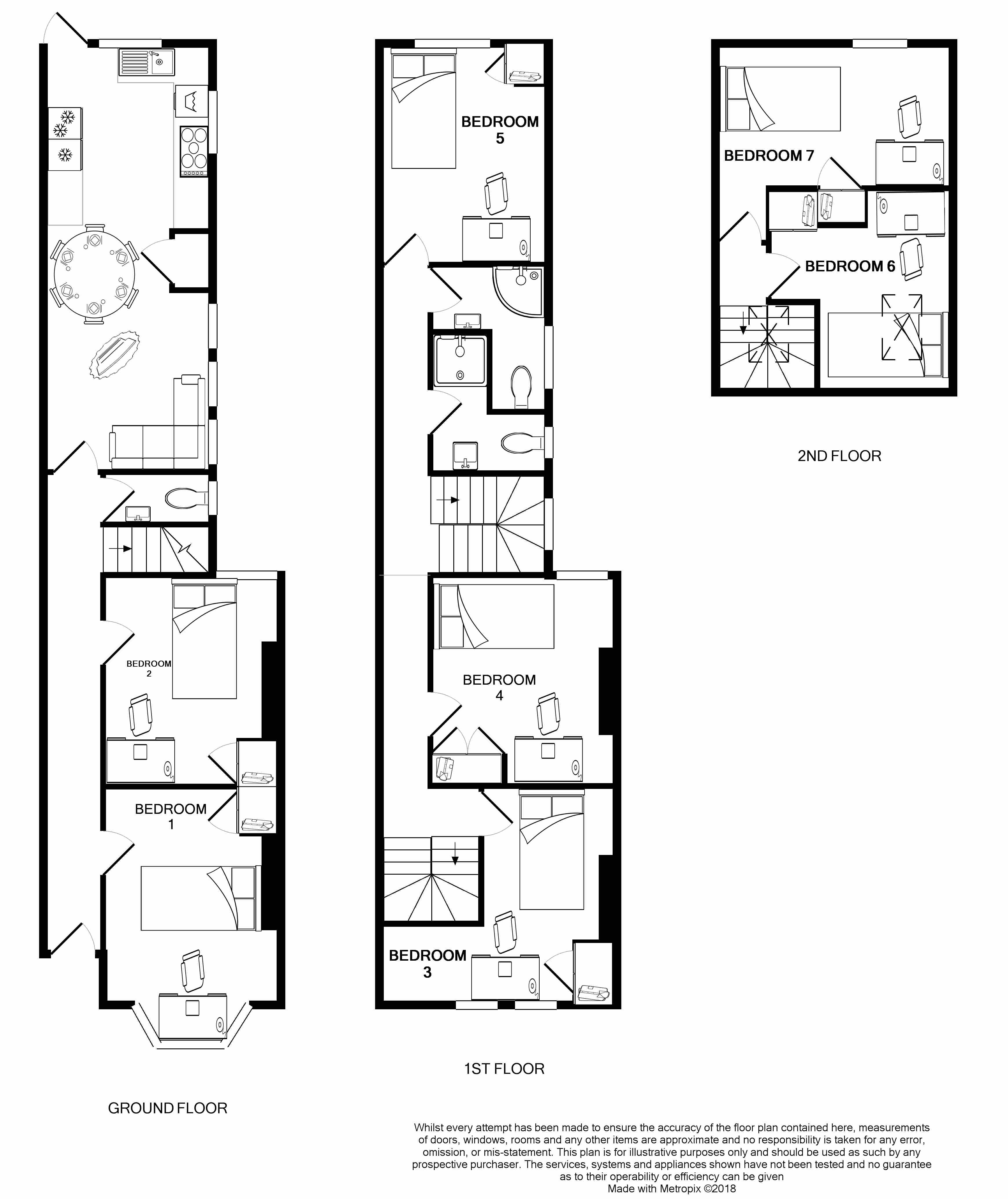 278 Fawcett Road - Floorplans