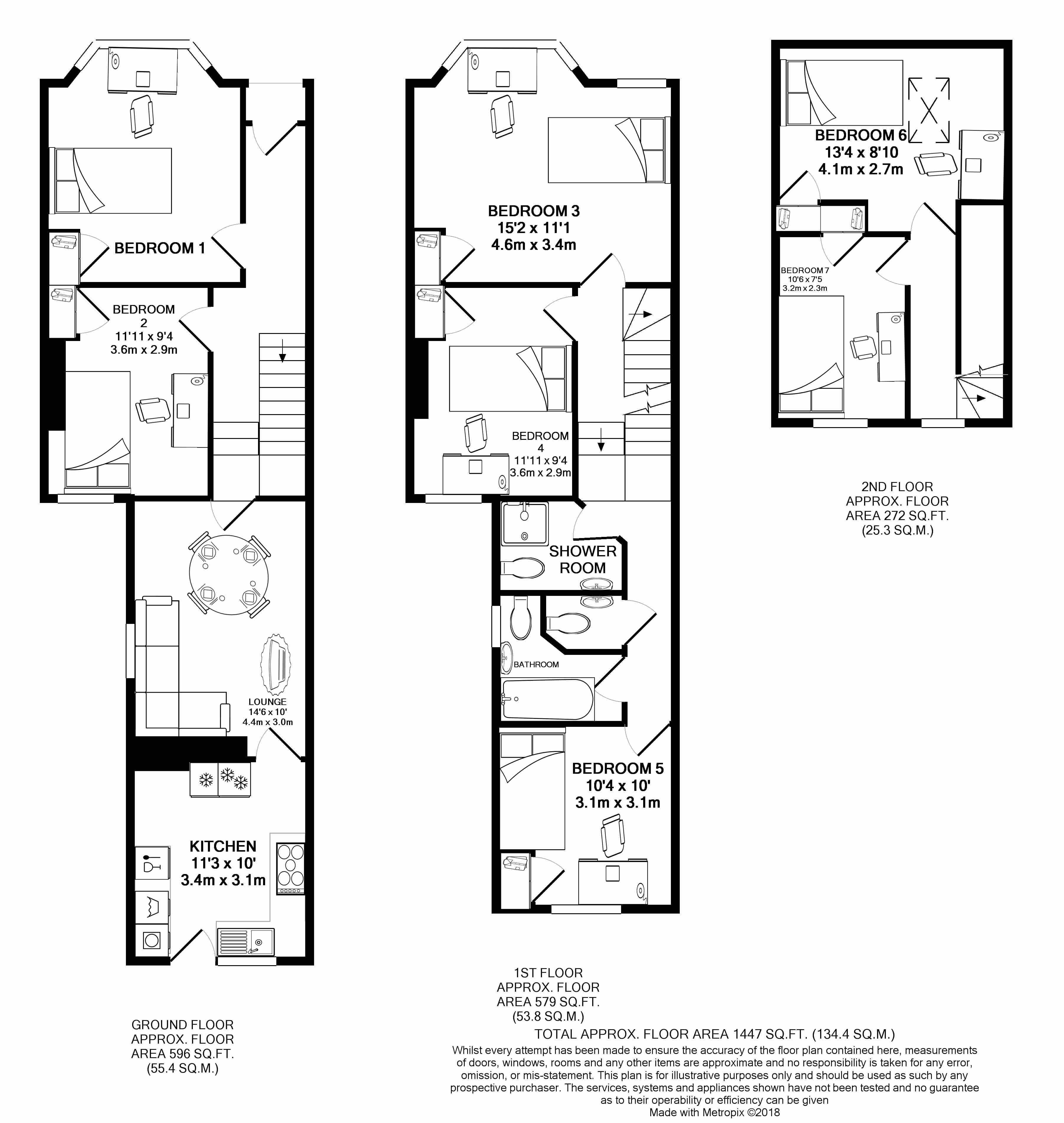 157 Malefant Street -floorplans