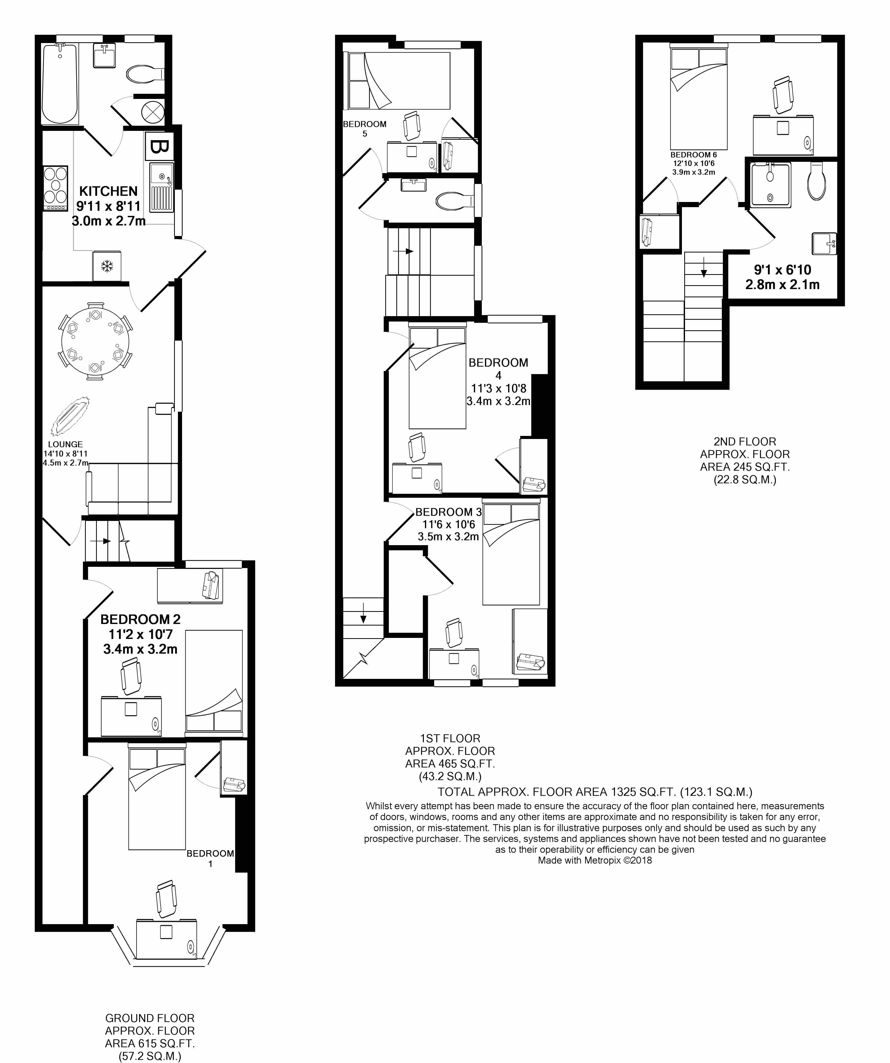 100 Manners Road - floorplans