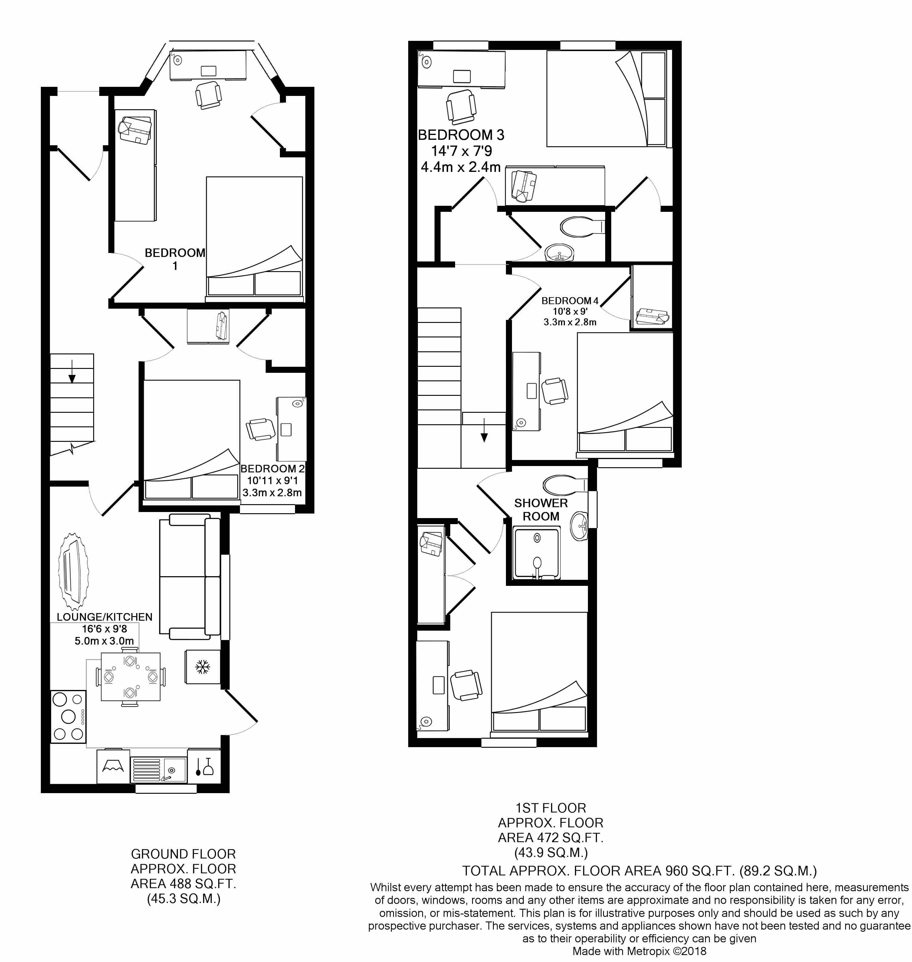 13 Angus Street -Floorplans