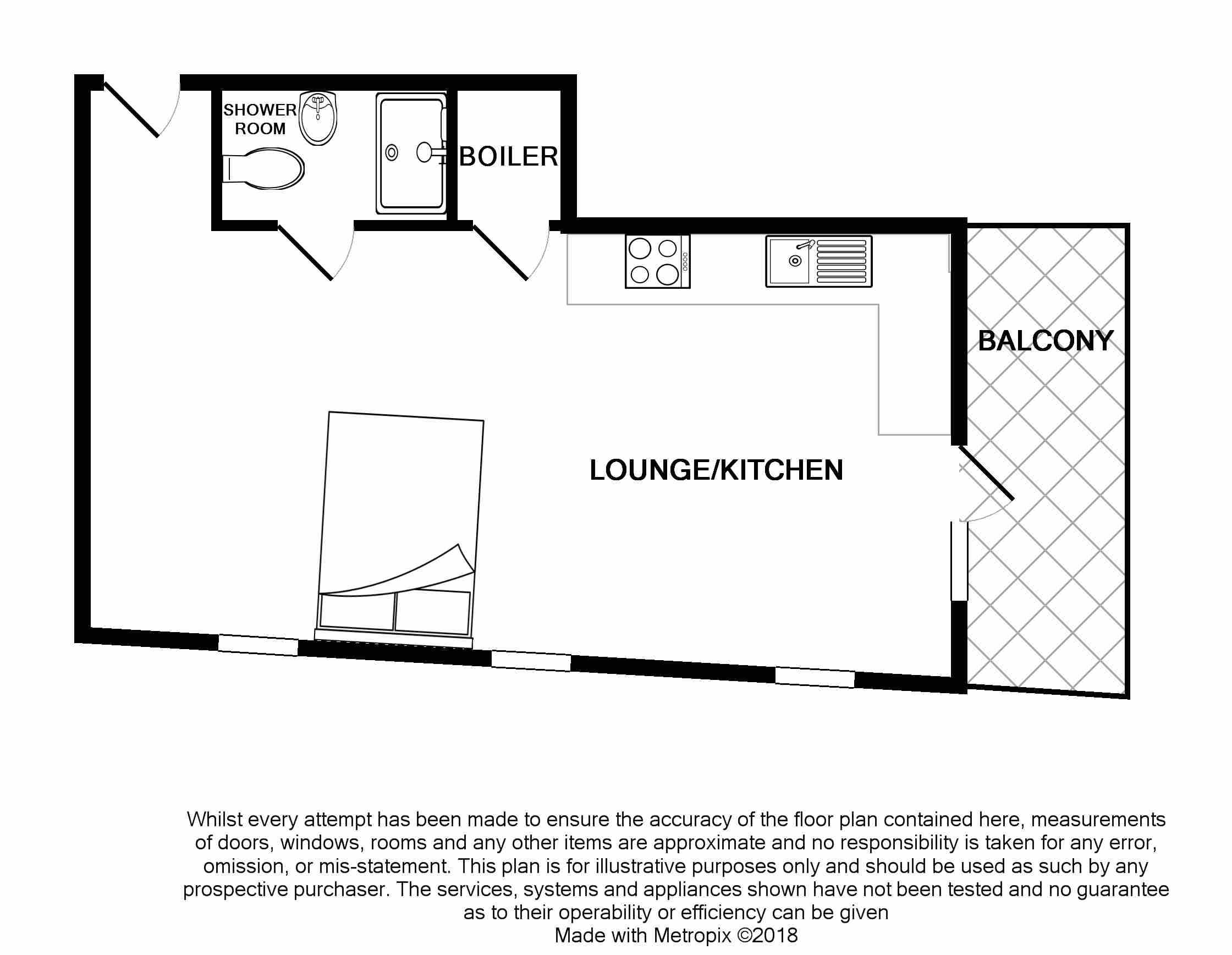 Flat 8 Floorplan