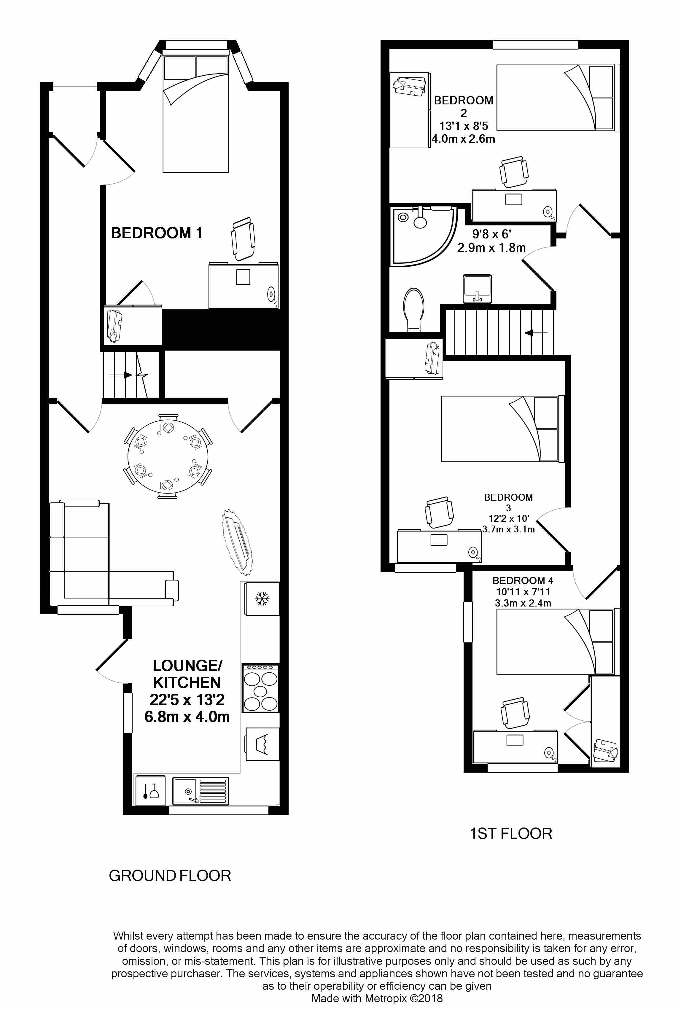 103 Bath Road - floorplans