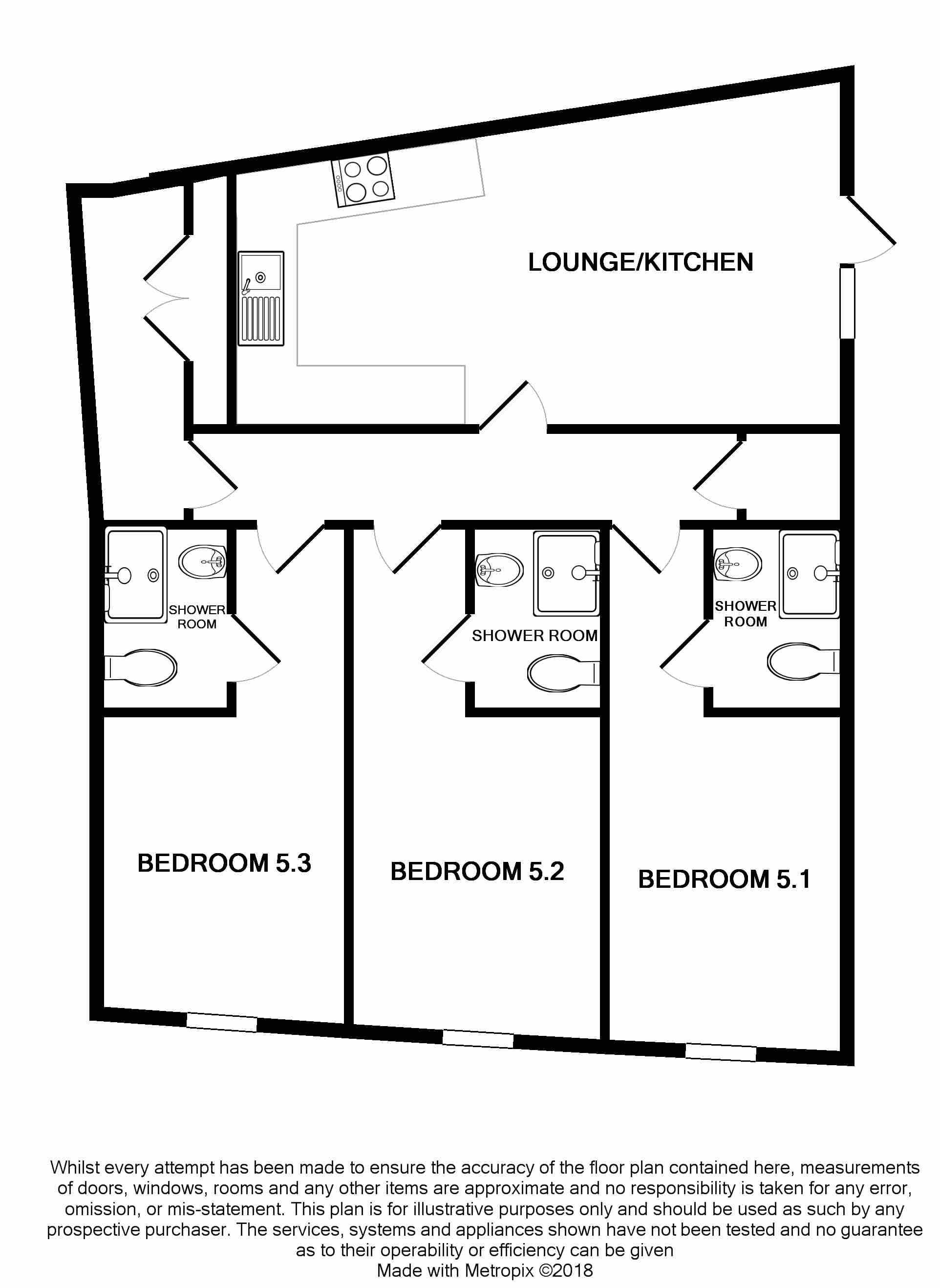 Flat 5 floorplan