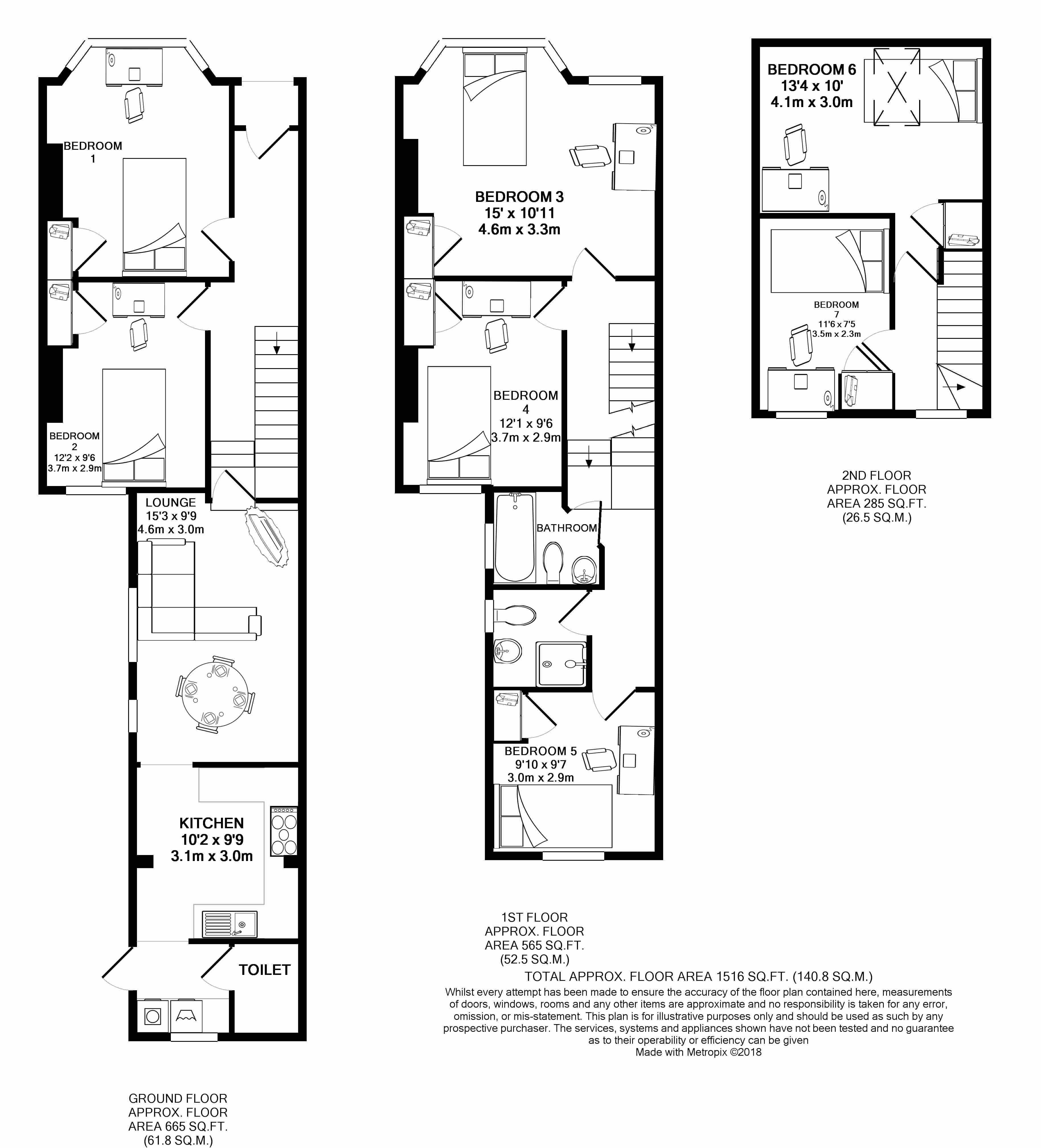 140 Mackintosh place - floorplans