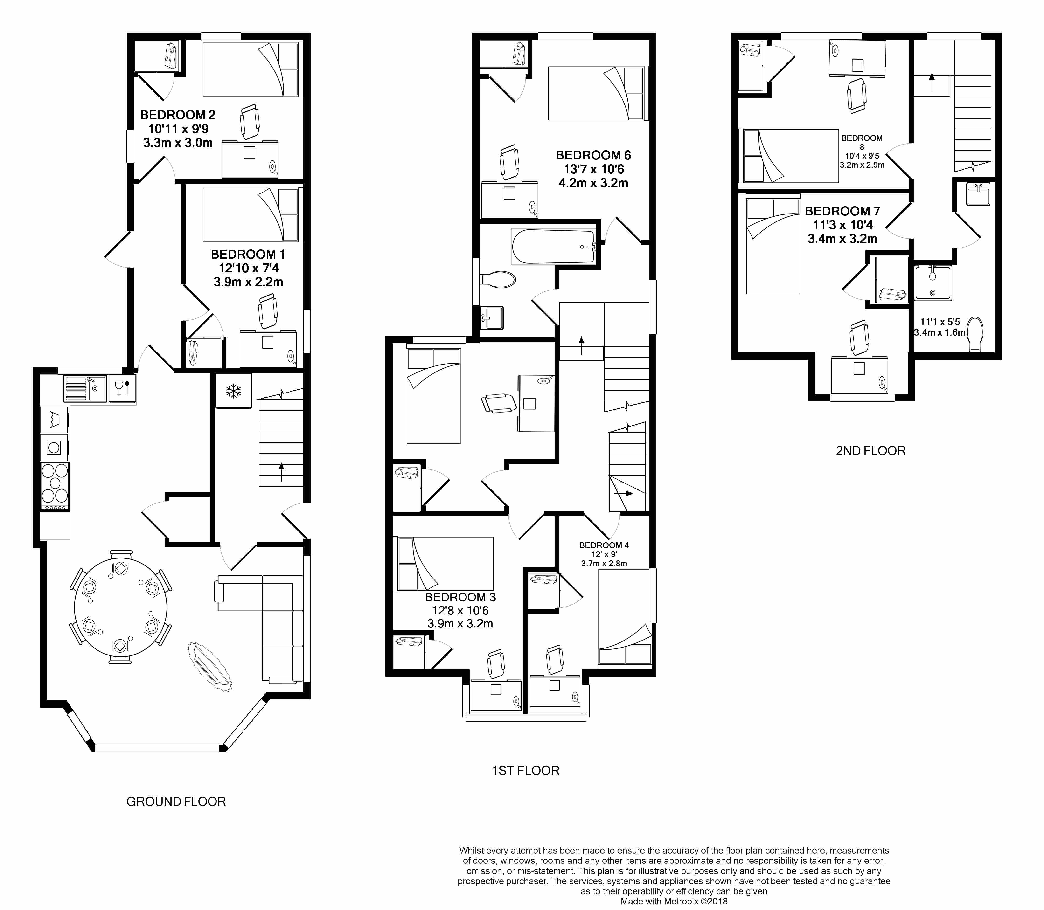 17 Clinton Avenue - floorplans