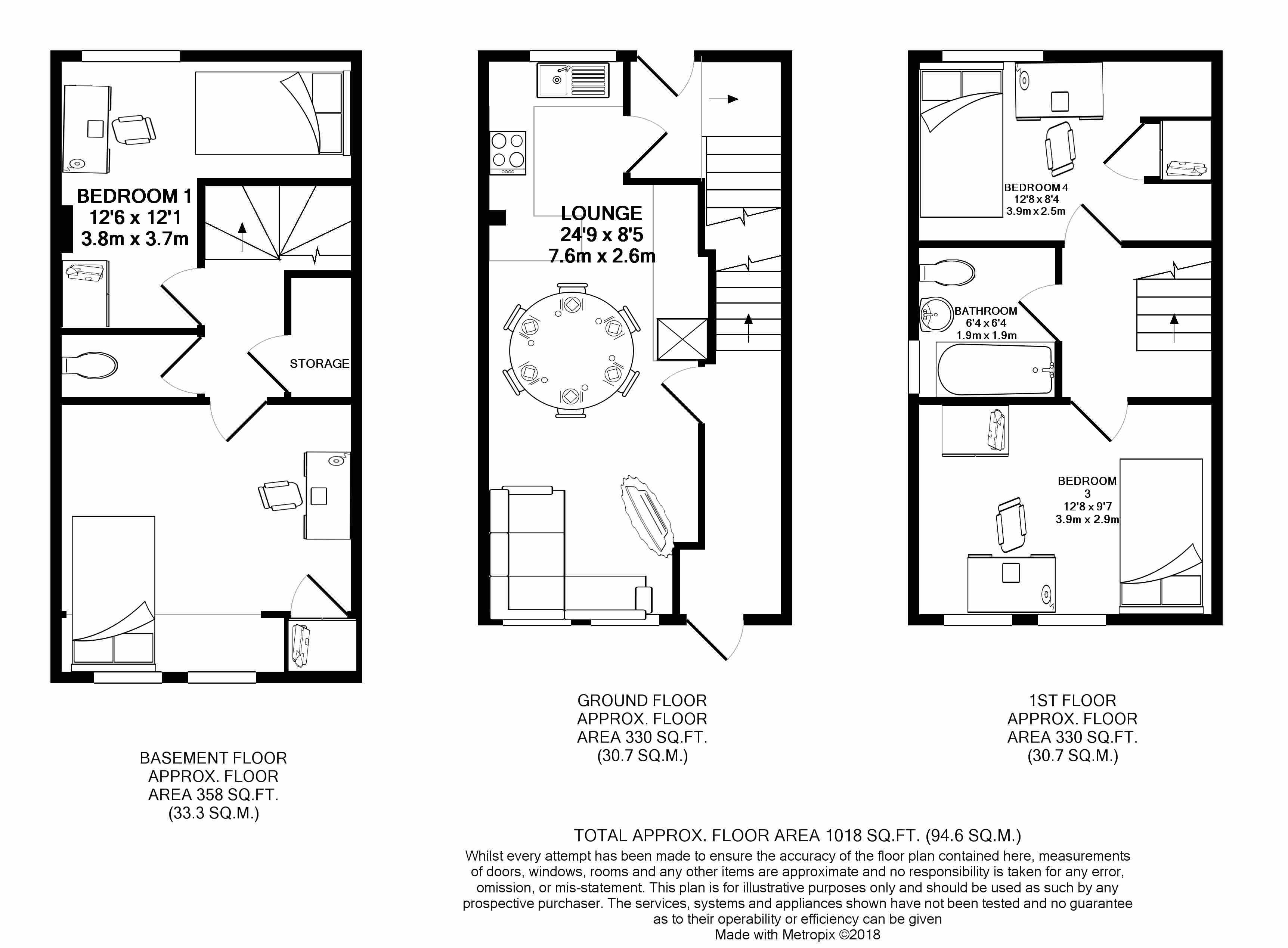 15a Larkdale Street -floorplans