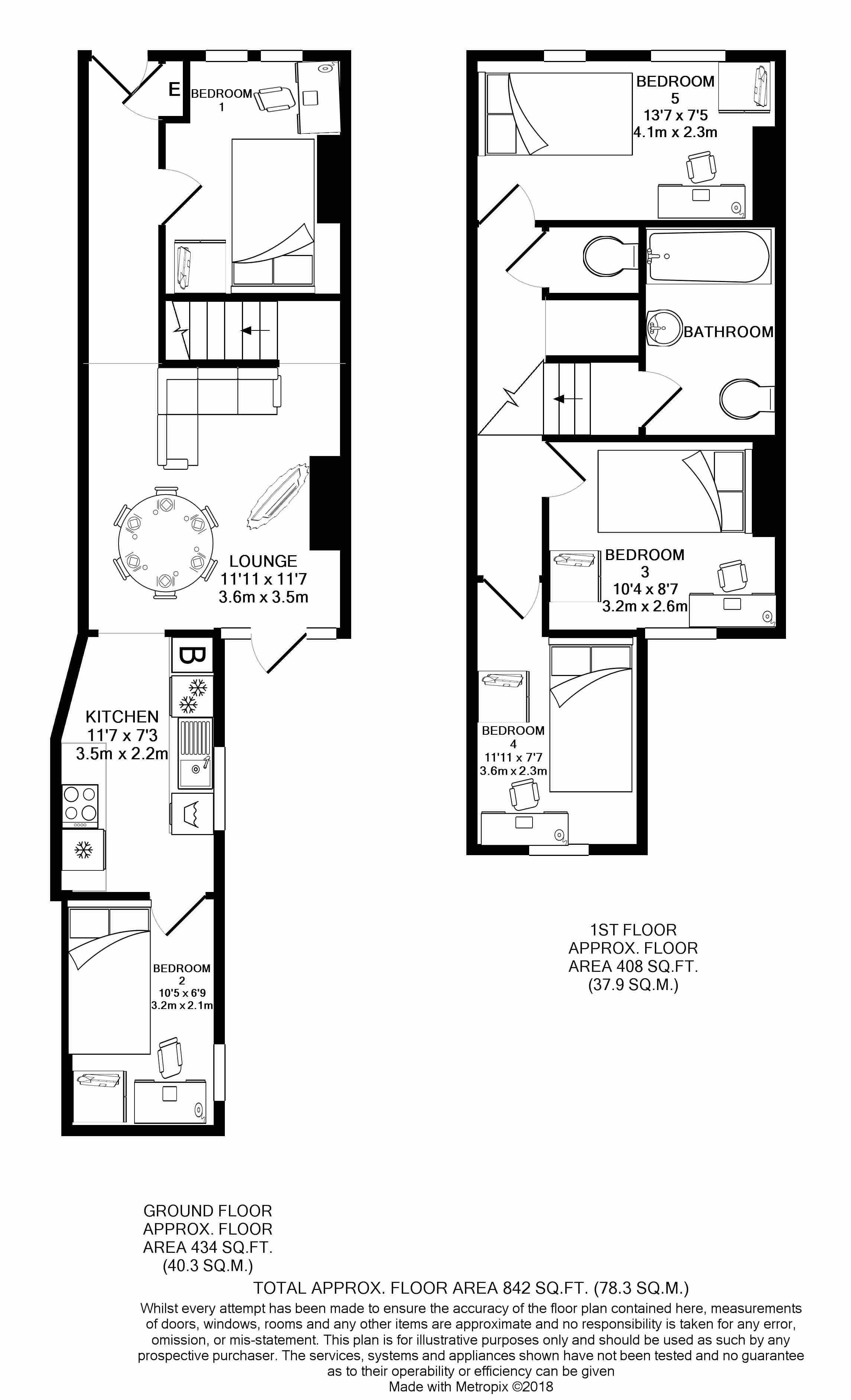 26 Beresford Street -Floorplan