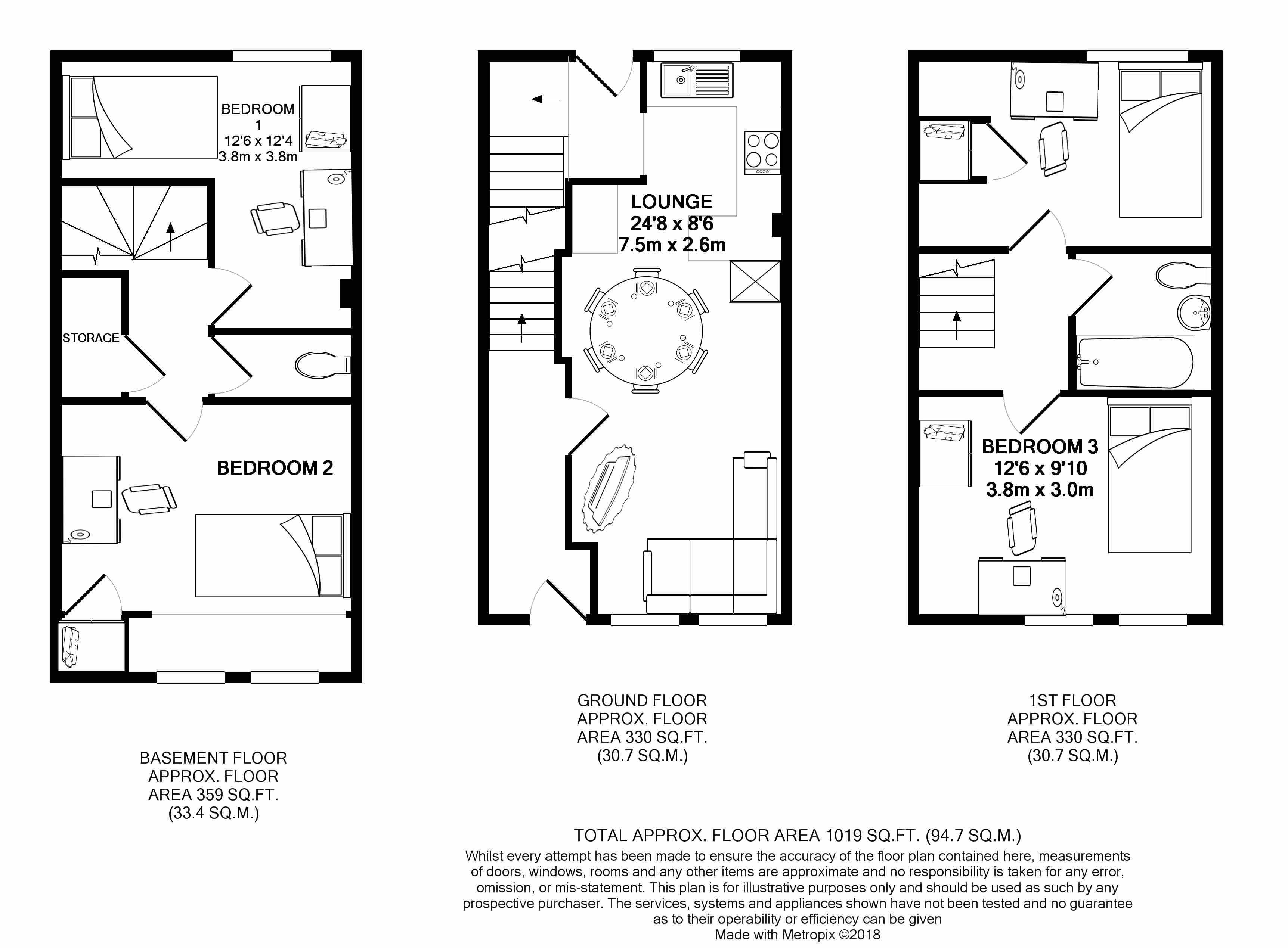 15b Larkdale Street -floorplans