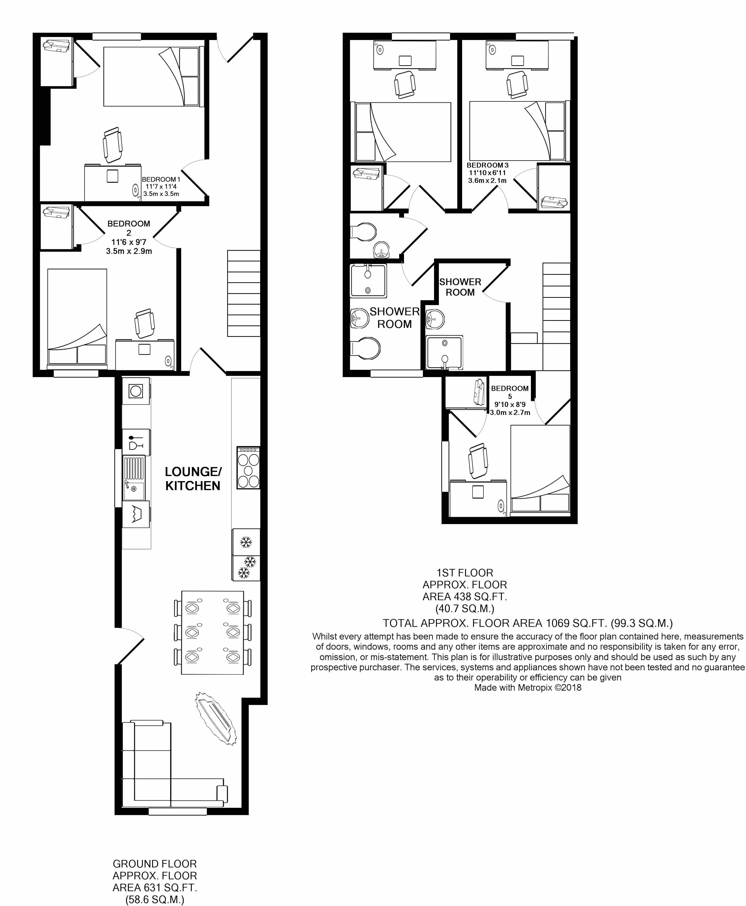 38 Daniel Street -floorplans