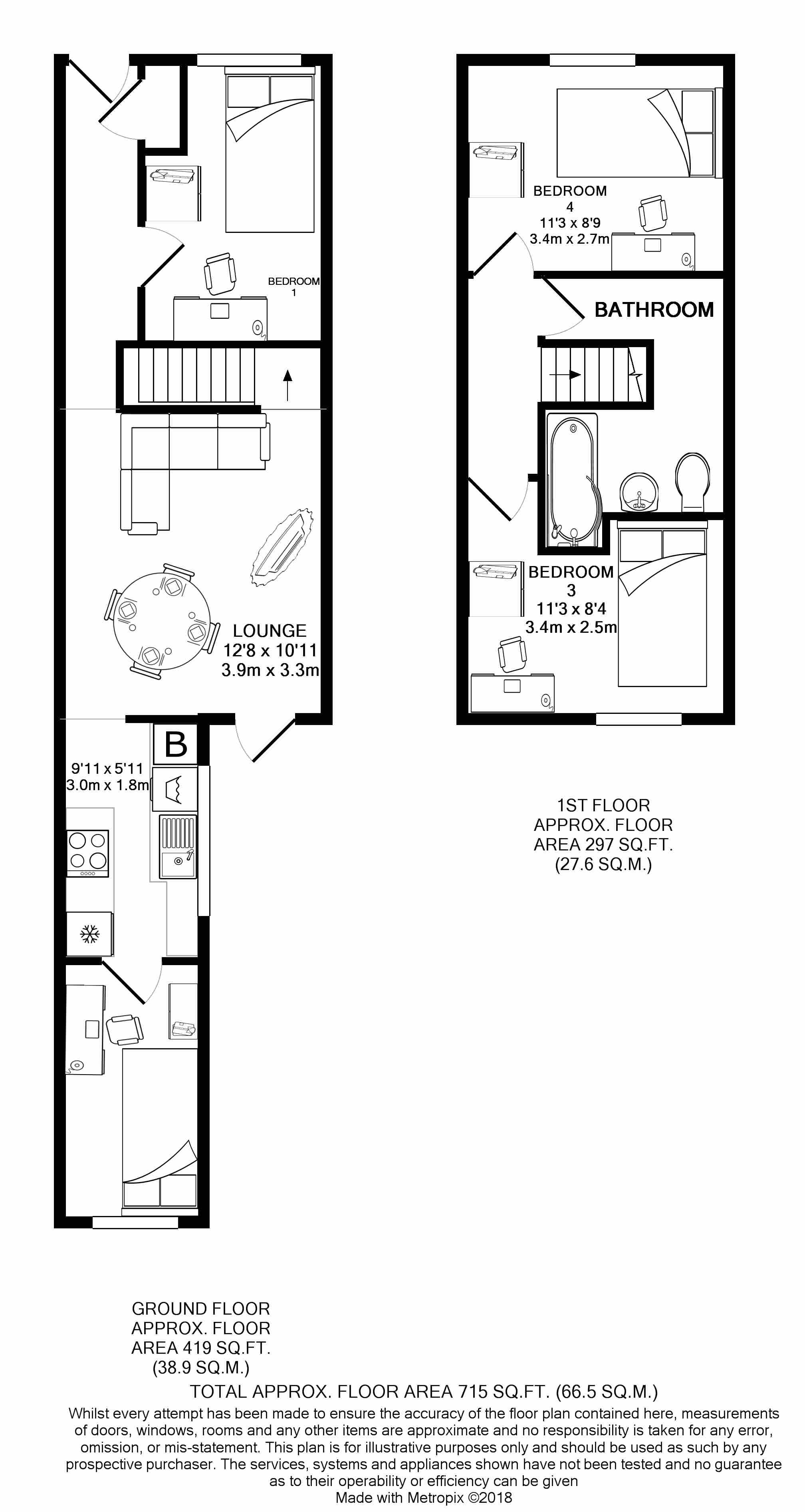15 Carlton Road - floorplans