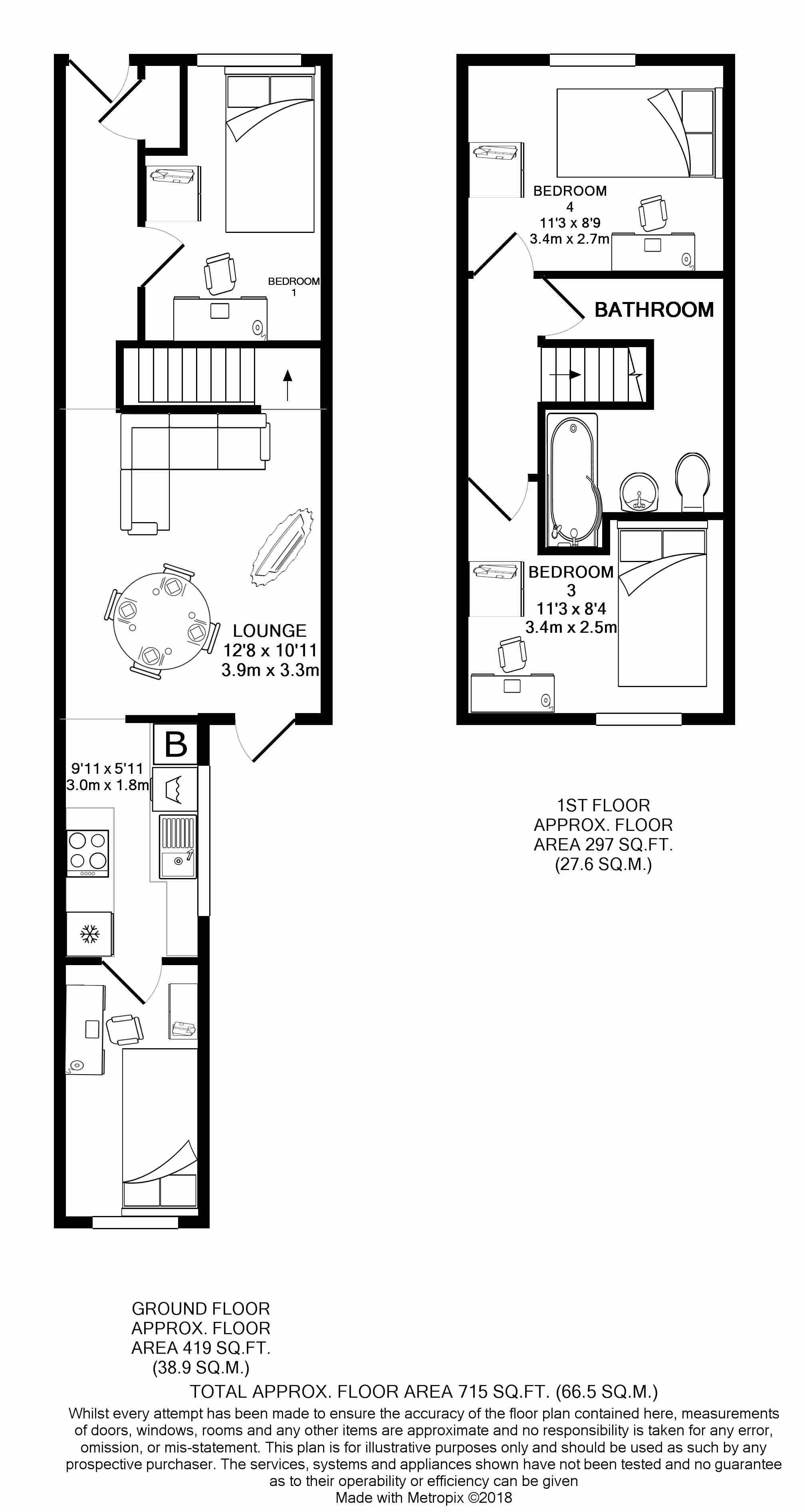 15 Carlton Road -floorplans