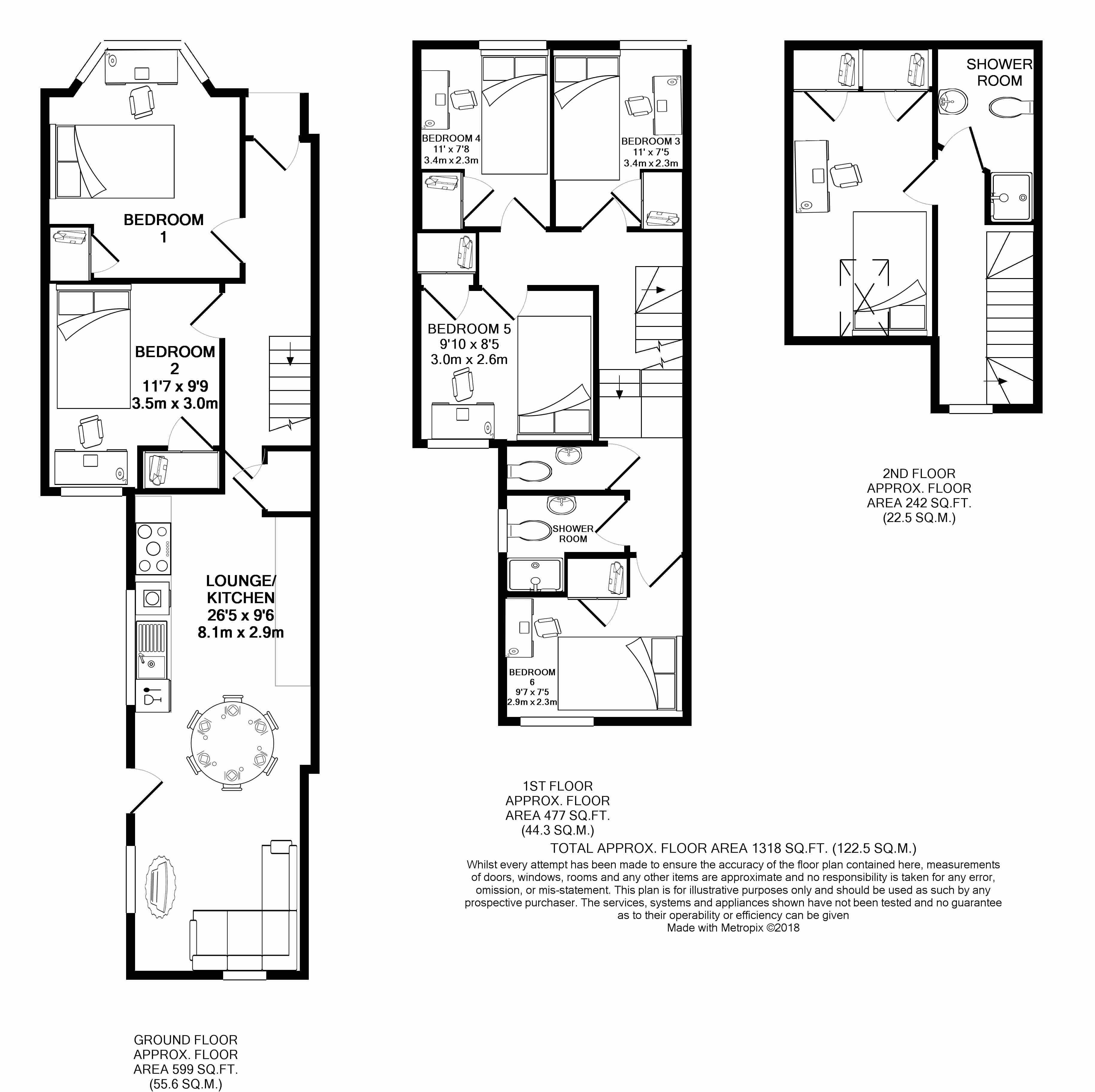 31 Glenroy Street -floorplans