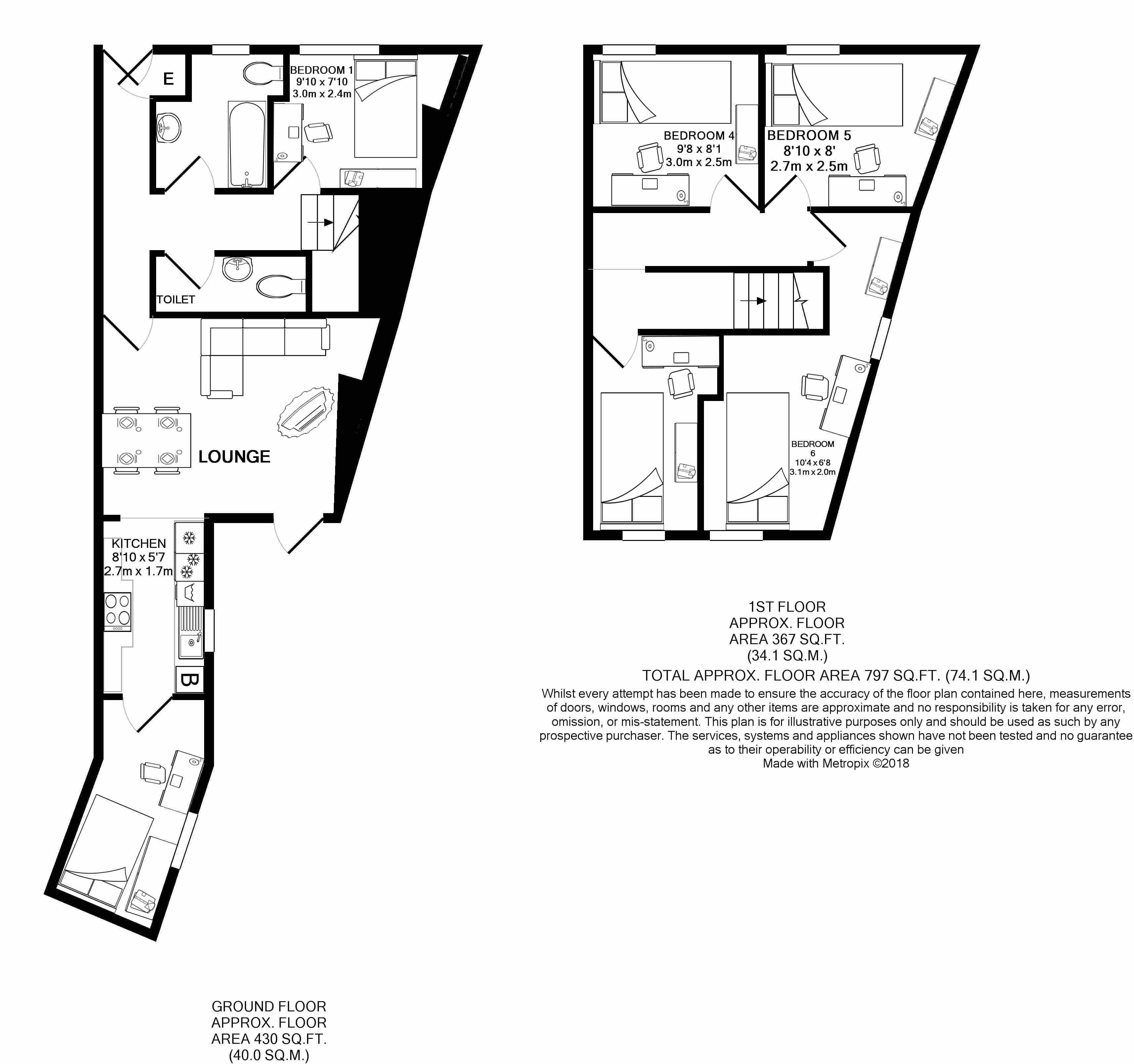 240 Cauldron Road -floorplans